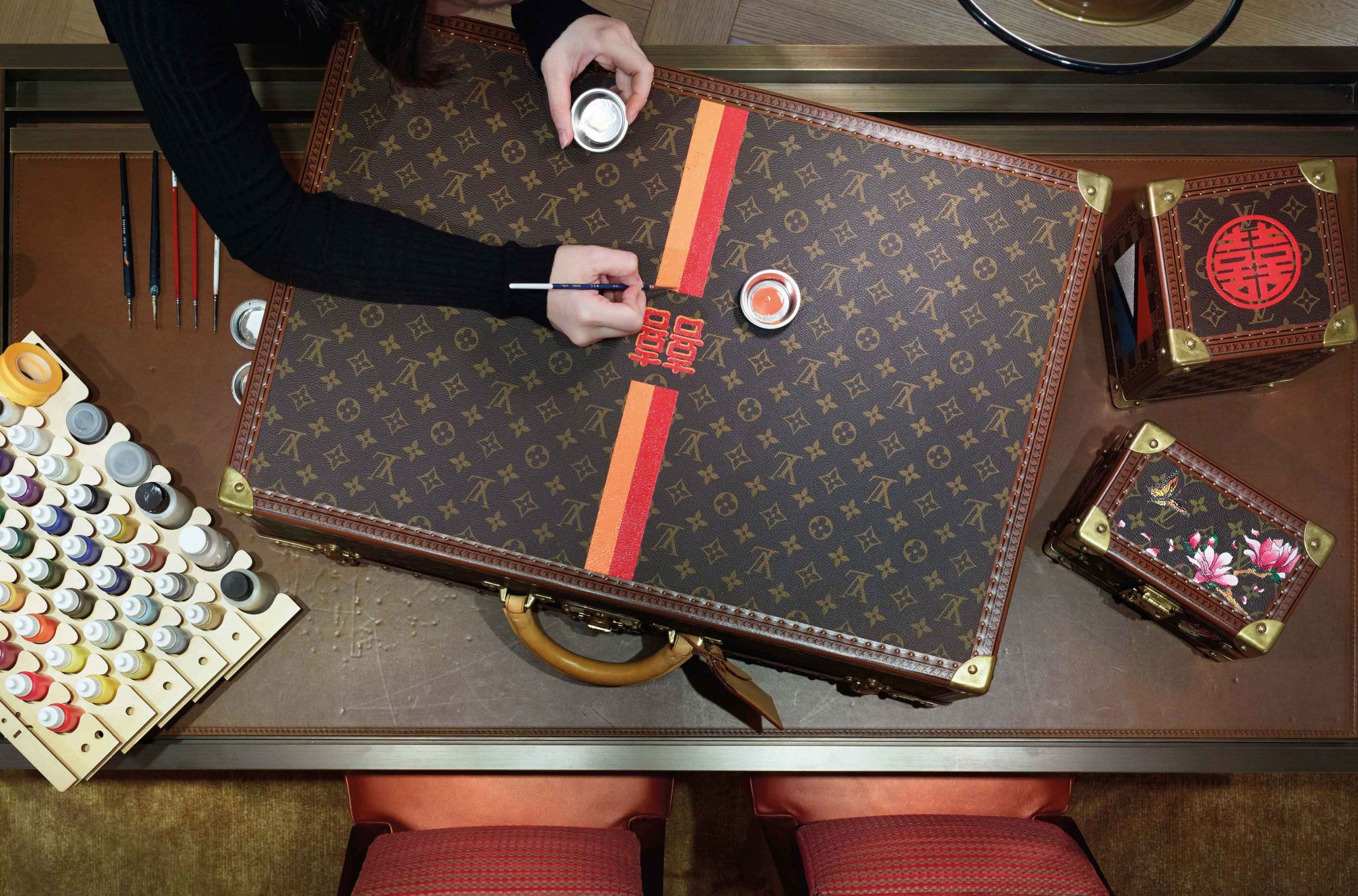 The Art of Travel: Decoding Louis Vuitton's Bespoke Trunks