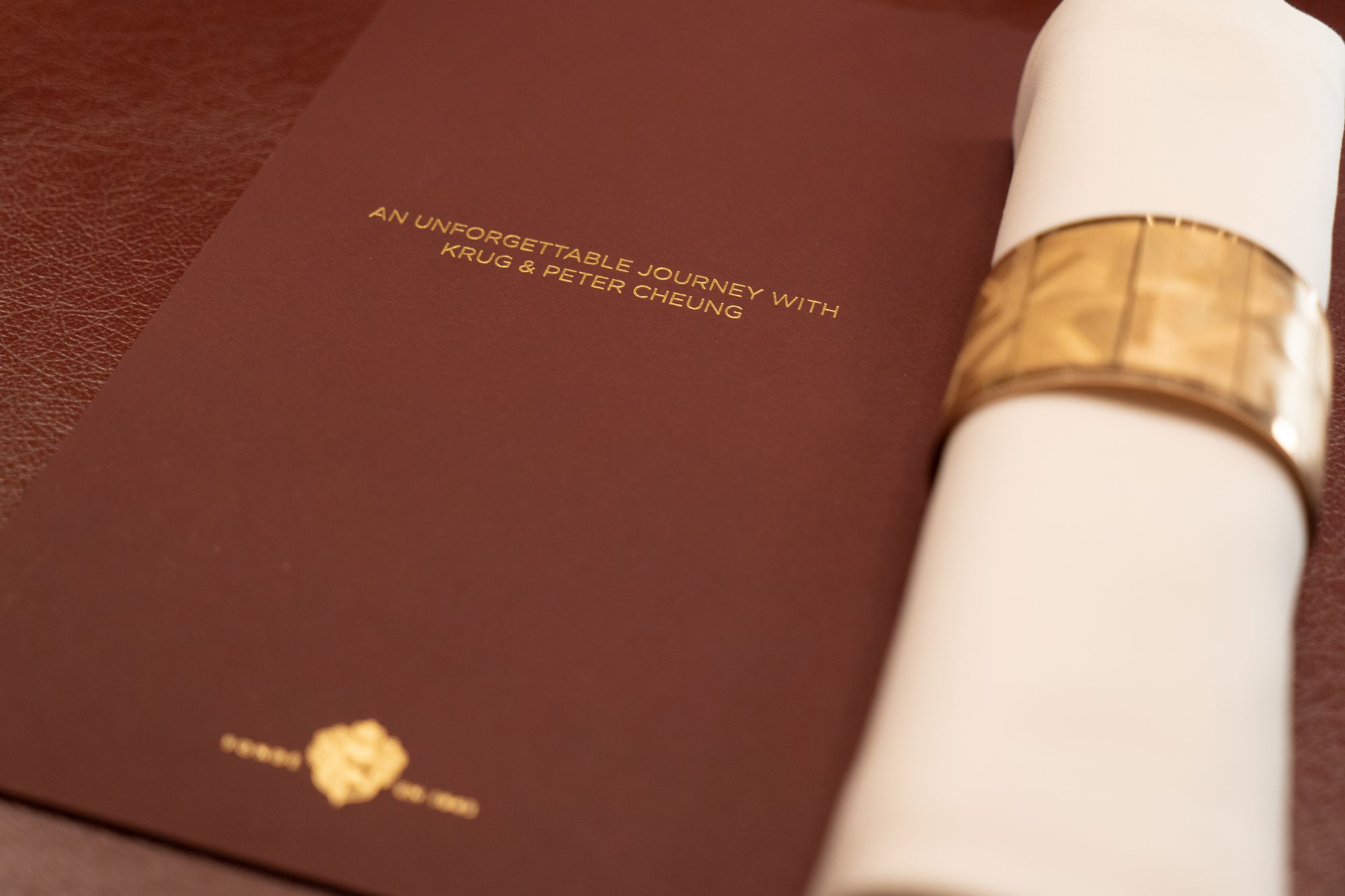 Decoding The Menu At The Krug Room Dinner With Peter Cheung