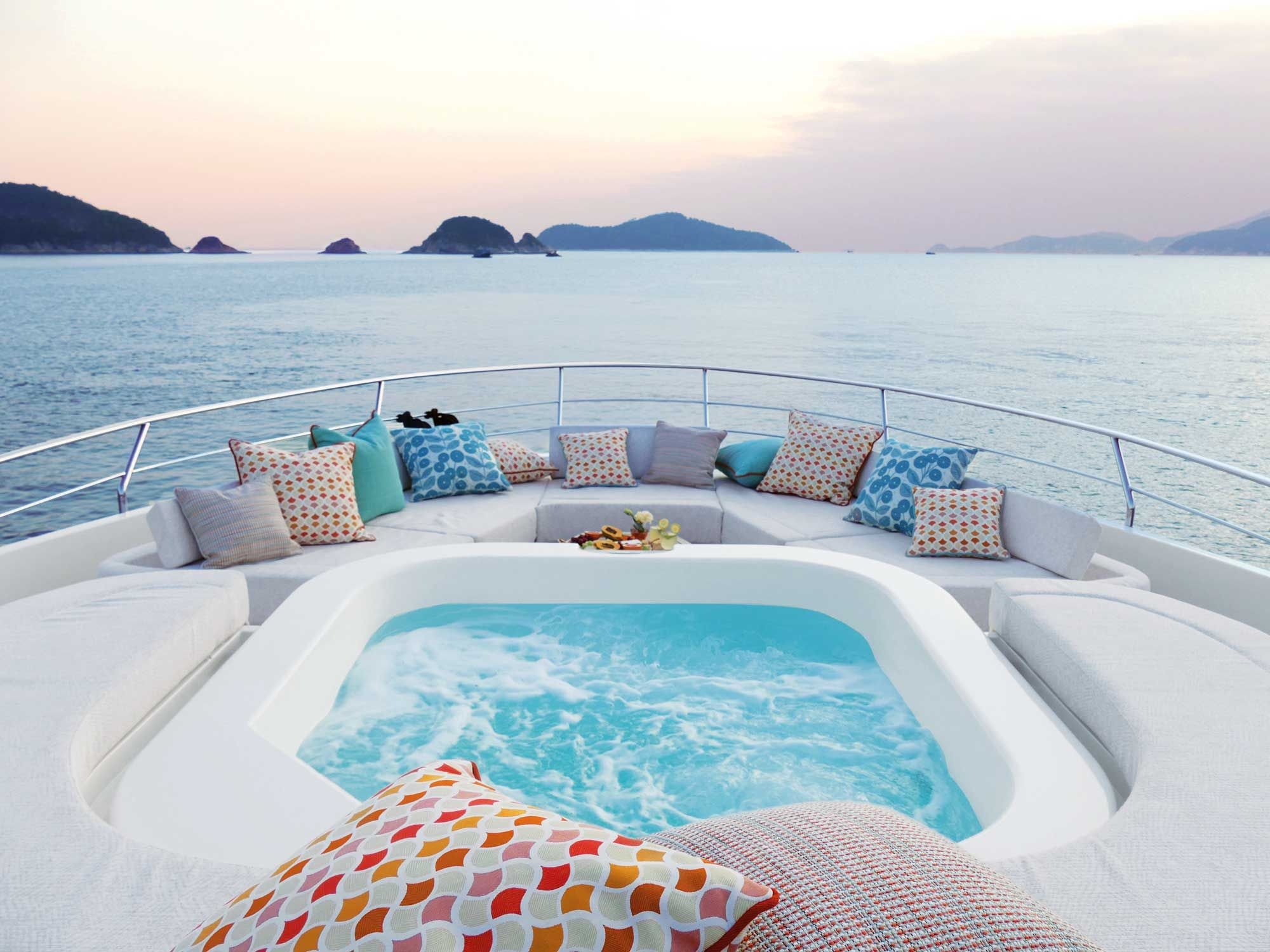 Sail Away: Inside The 32m Yacht Designed By Kelly Lo