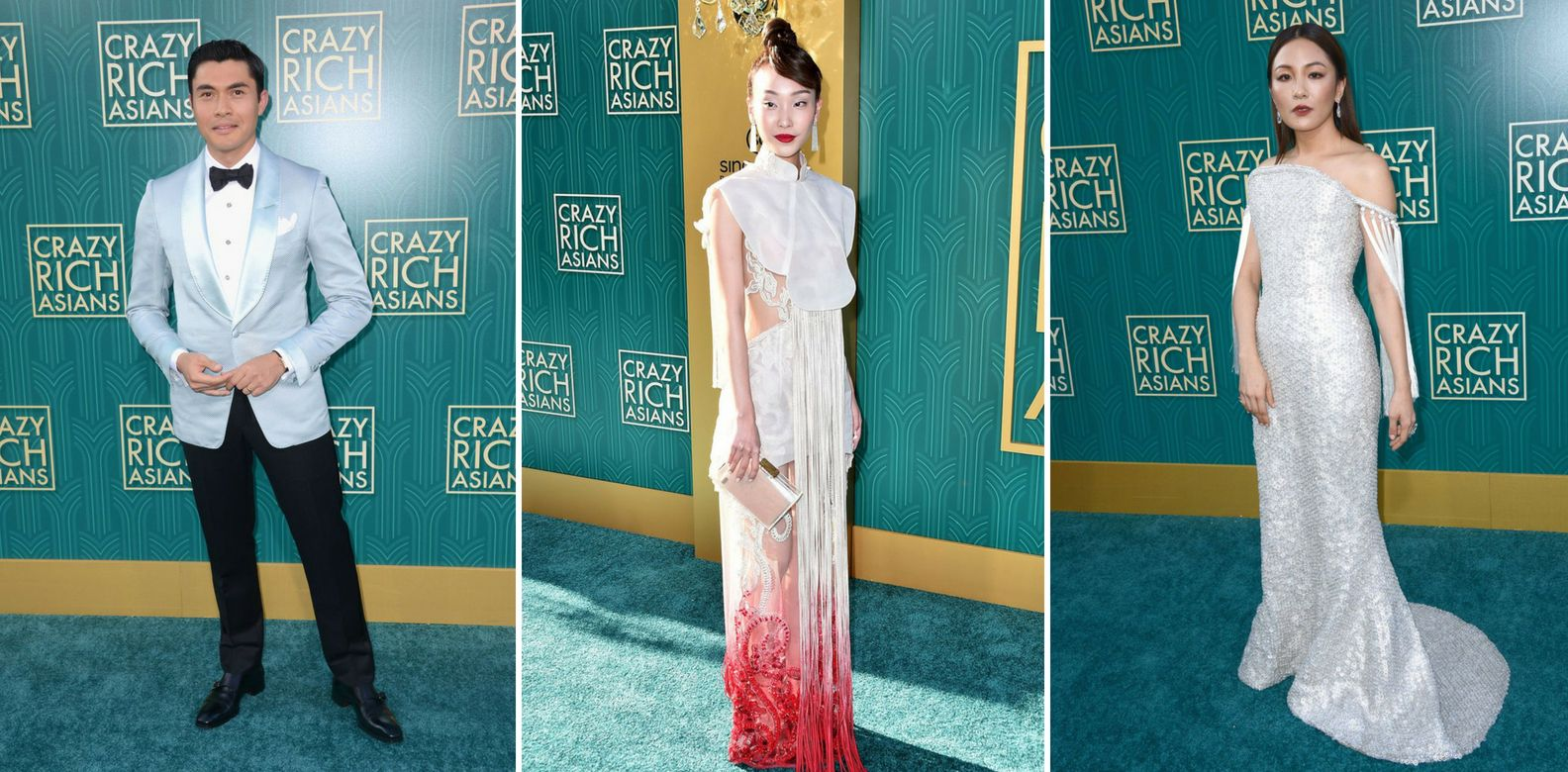 Video: Who Wore What At The Crazy Rich Asians Hollywood Premiere