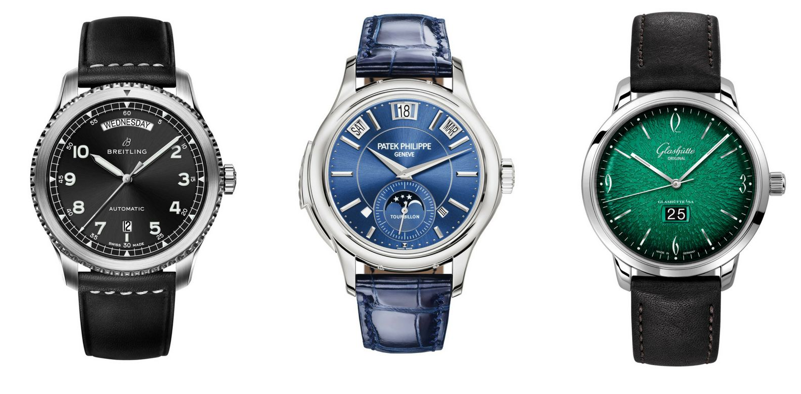 It's A Date: 12 Luxury Watches With Date Functions