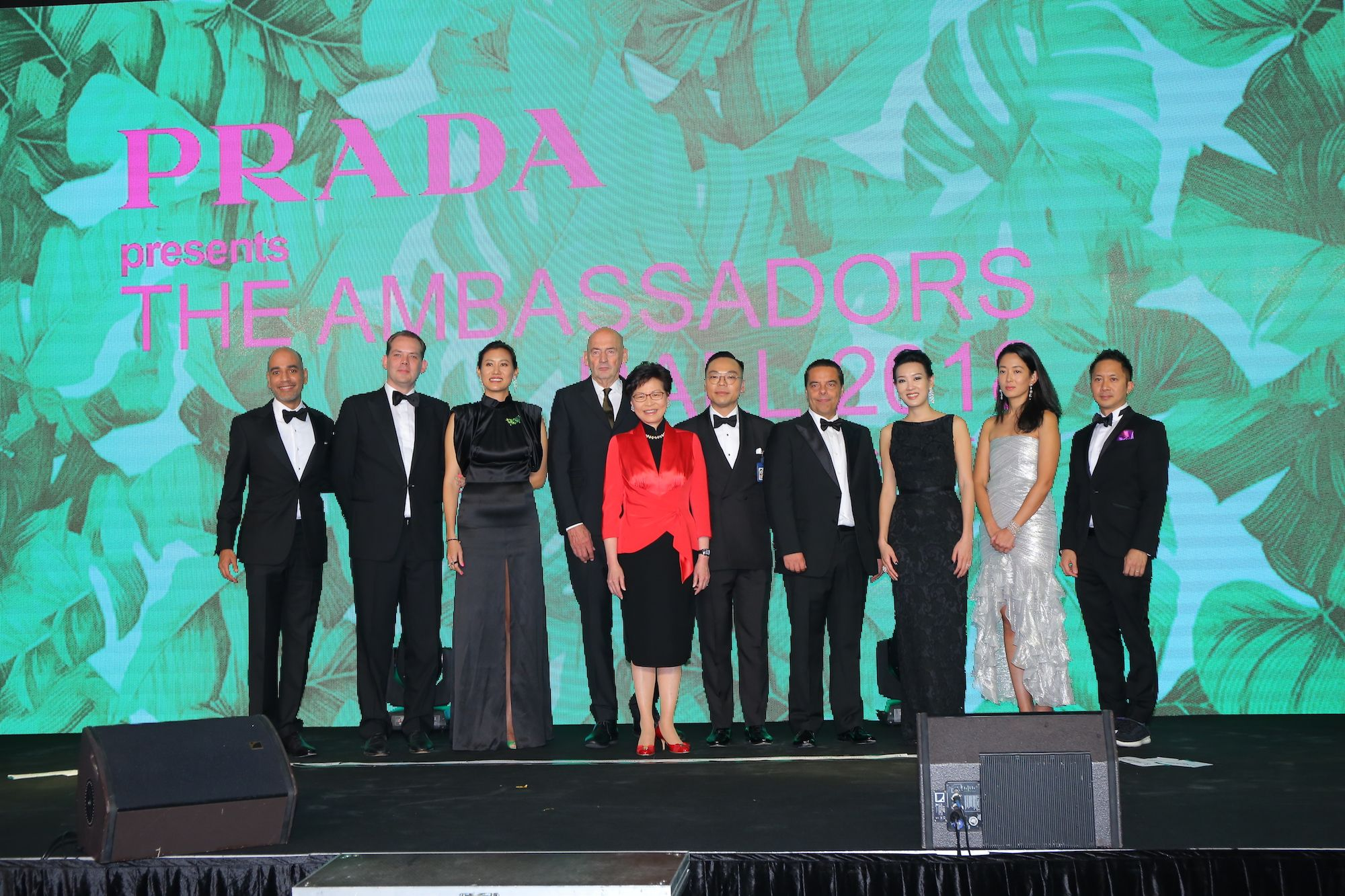 Jagdish Parmamand, David Gianotten, Marisa Yiu, Rem Koolhaas, Carrie Lam, Alan Lo, Armando Tolomelli, Joyce Tam, Hui Kuok-Gaw, Jehan Chu