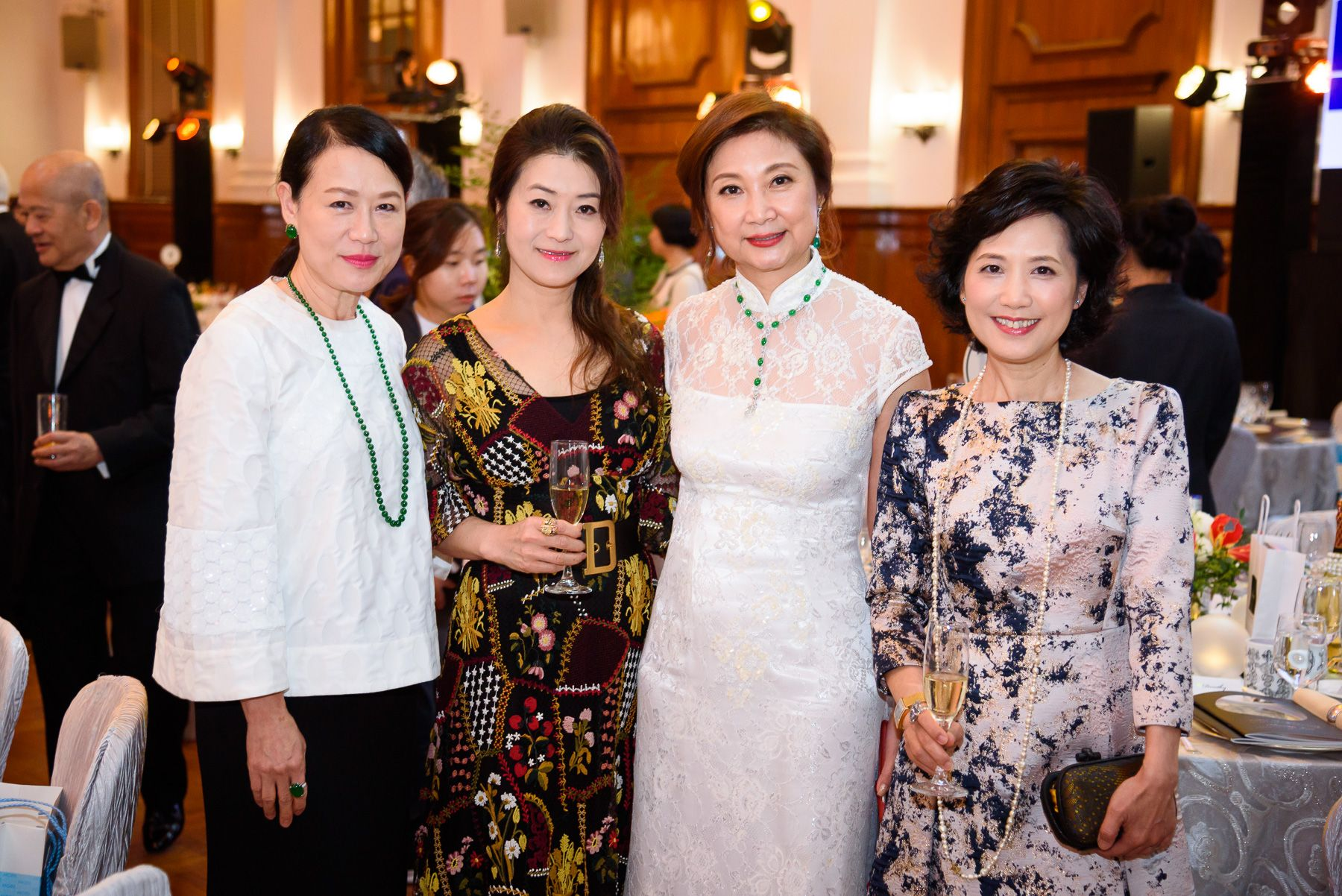 Linda Lau, Cecilia Cheung, Catherine Kwai, Wendy Tsang