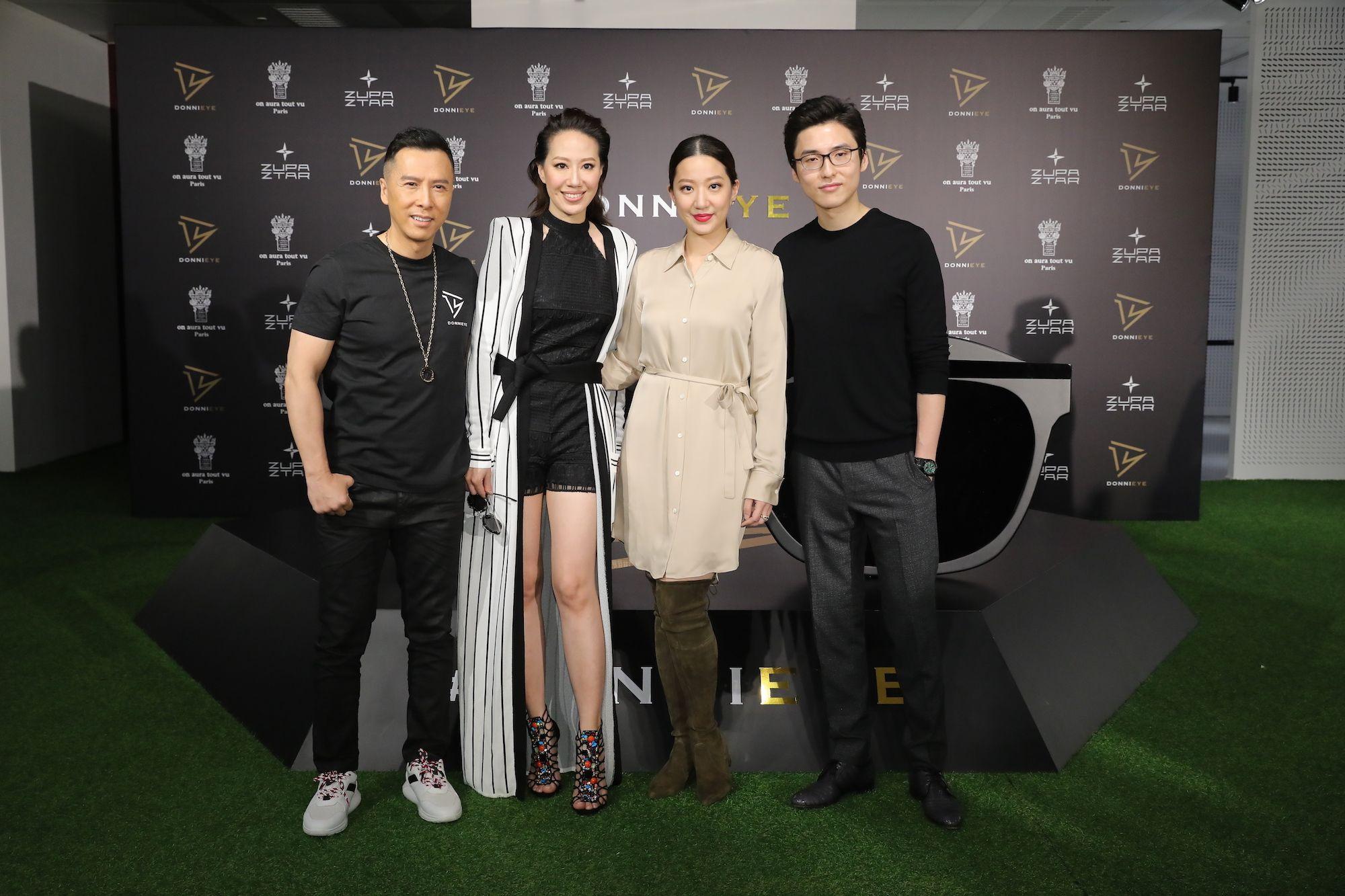 Donnie Yen, Cissy Wang, Irene Wang, Karson Choi
