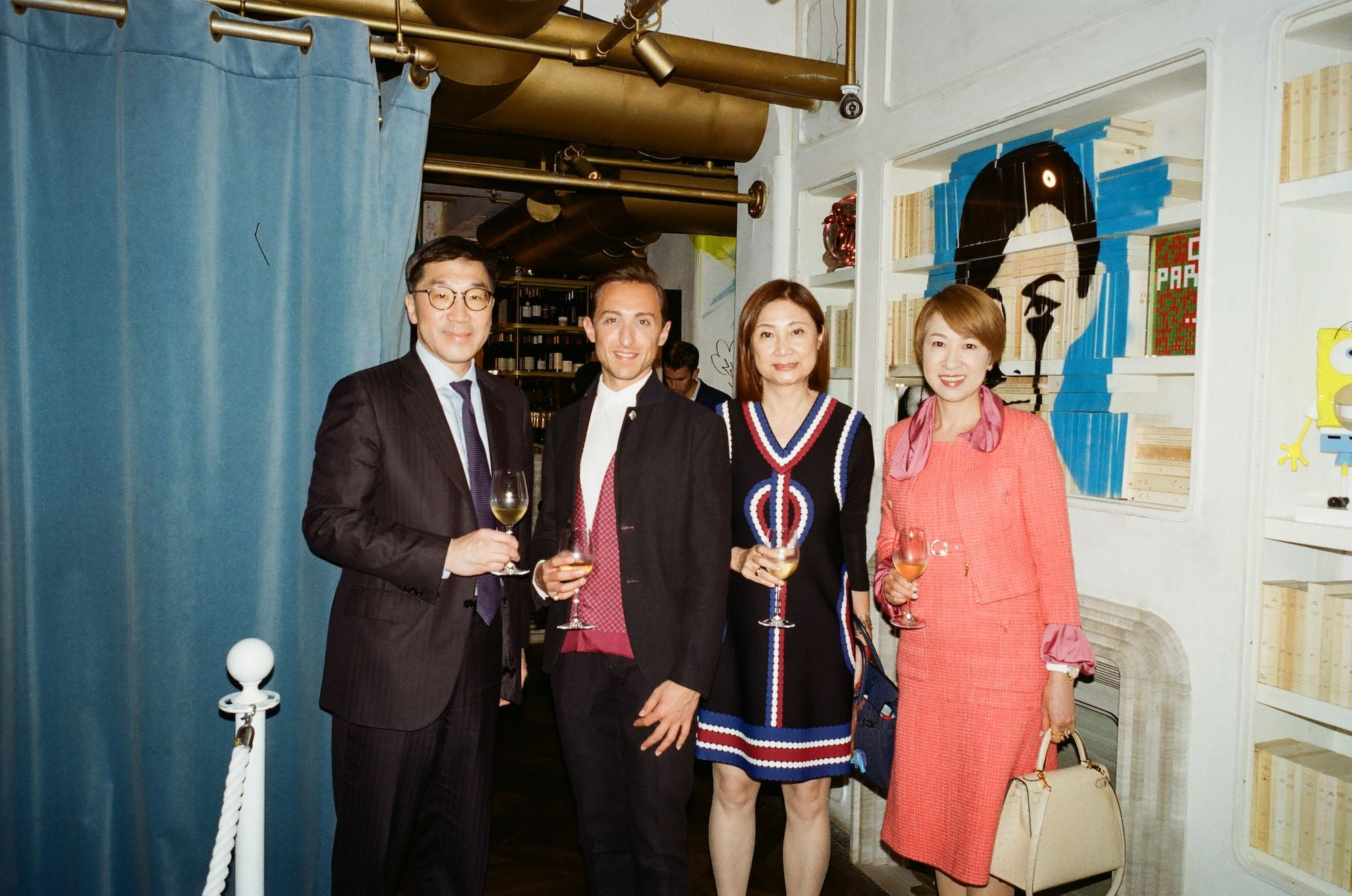 Christopher Chan, Julien-Loïc Garin, Catherine Kwai, Michelle Ma-Chan