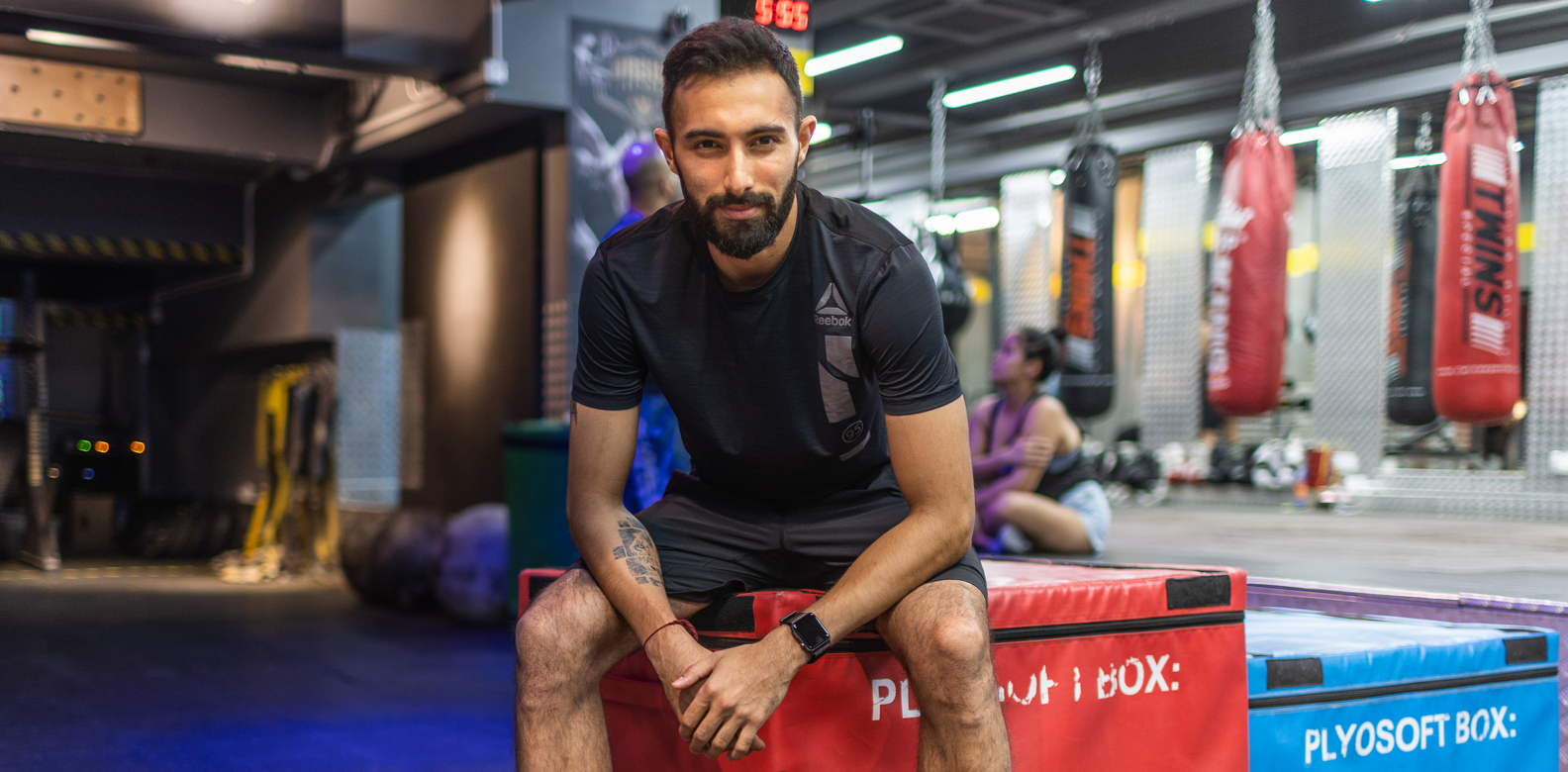 Video: Working Out With Gianni Melwani Of Hybrid Group