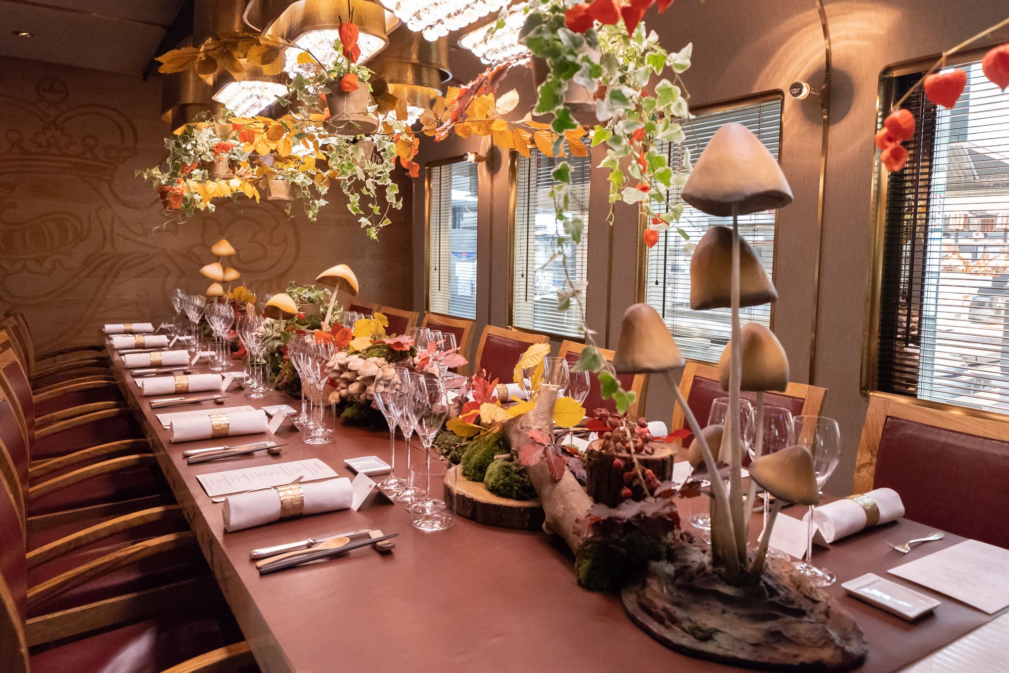 A Whimsical Autumn Feast With Victoria Tang-Owen And Christopher Owen At The Krug Room