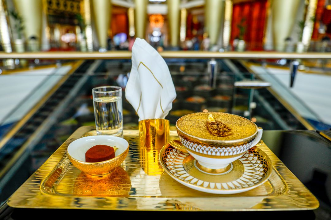 24K Gold Cappuccinos Are Now Available In Dubai