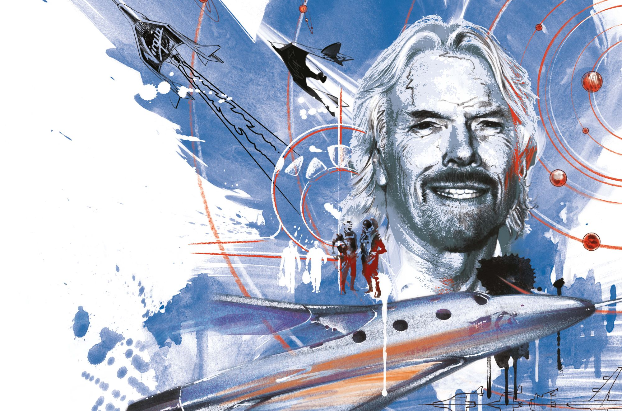 Rocket Men: Richard Branson, Virgin Galactic