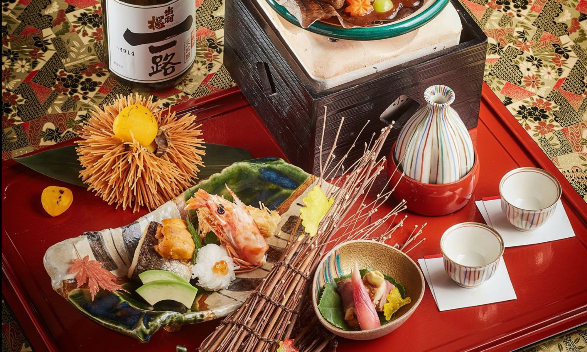 Dewazakura Sake Pairing Menu At Yamazato