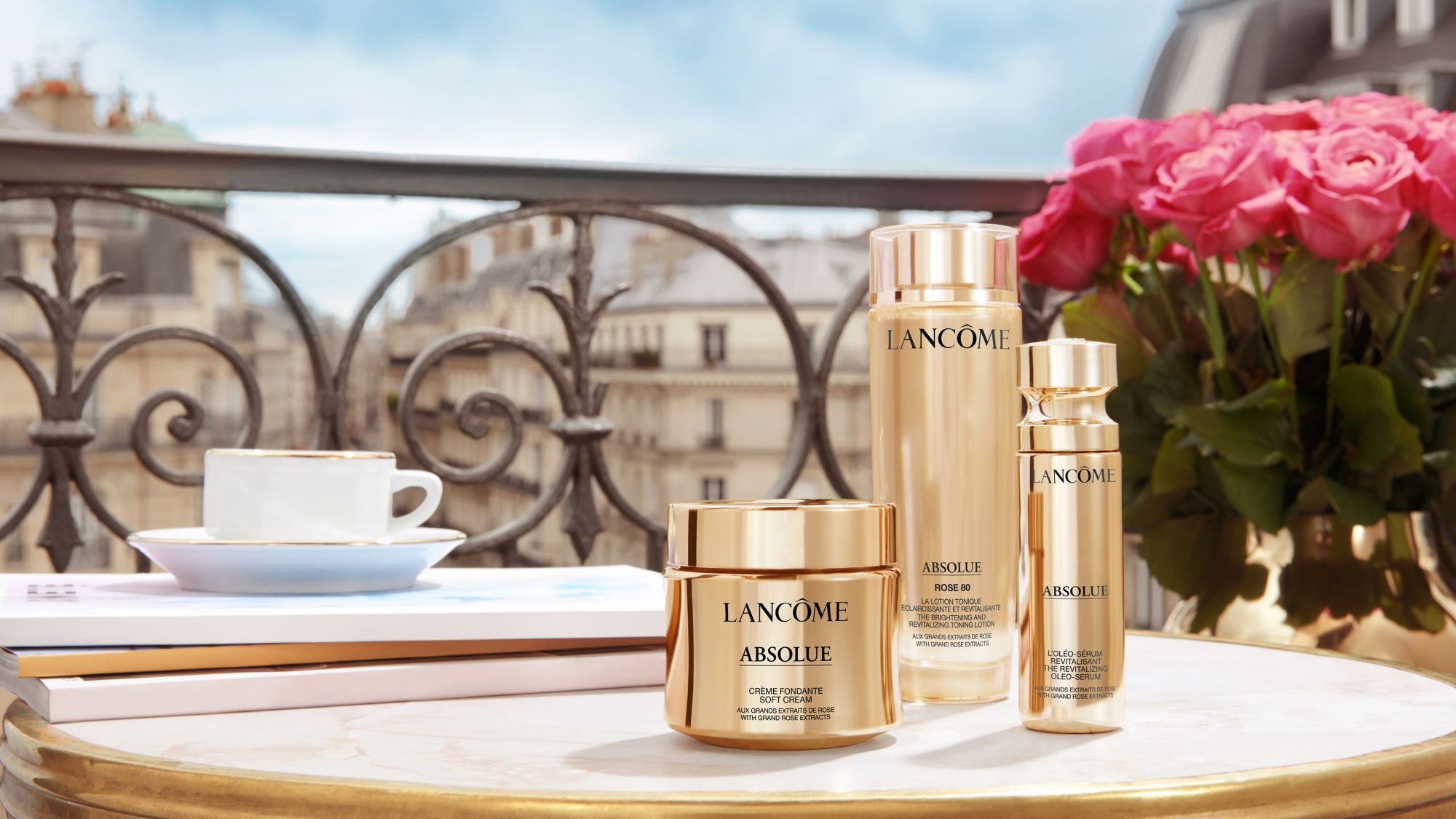 Transform Your Complexion With Lancôme's New Absolue Collection