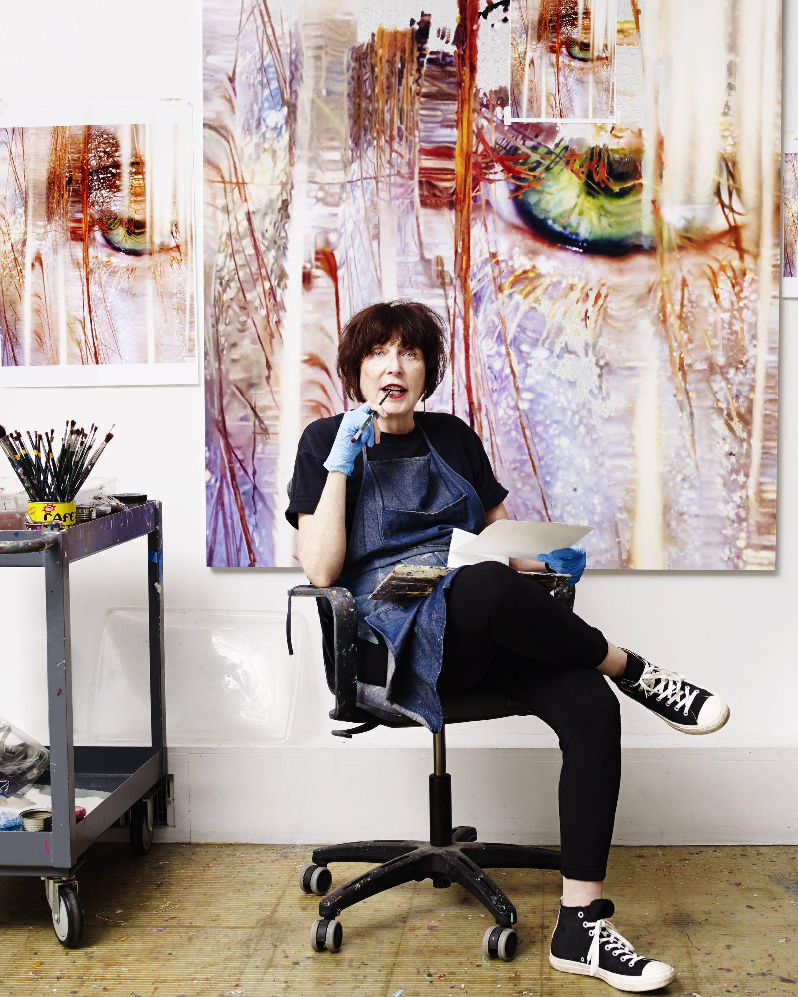 "Artist Marilyn Minter: ""Donald Trump Is A Monster"""