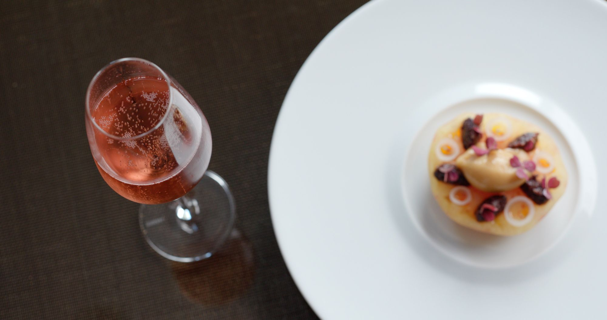 How A Chef Pairs Rosé Champagne With Food