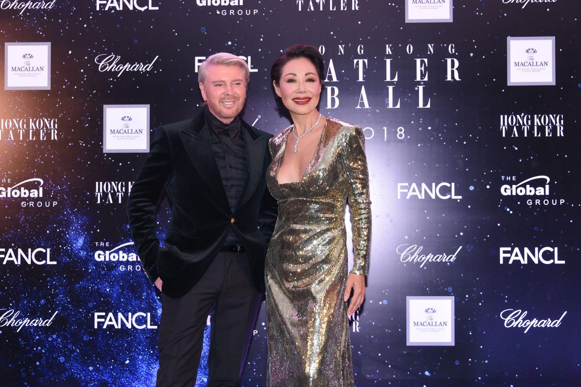 Video: Hong Kong Tatler Ball 2018 Red Carpet Arrivals