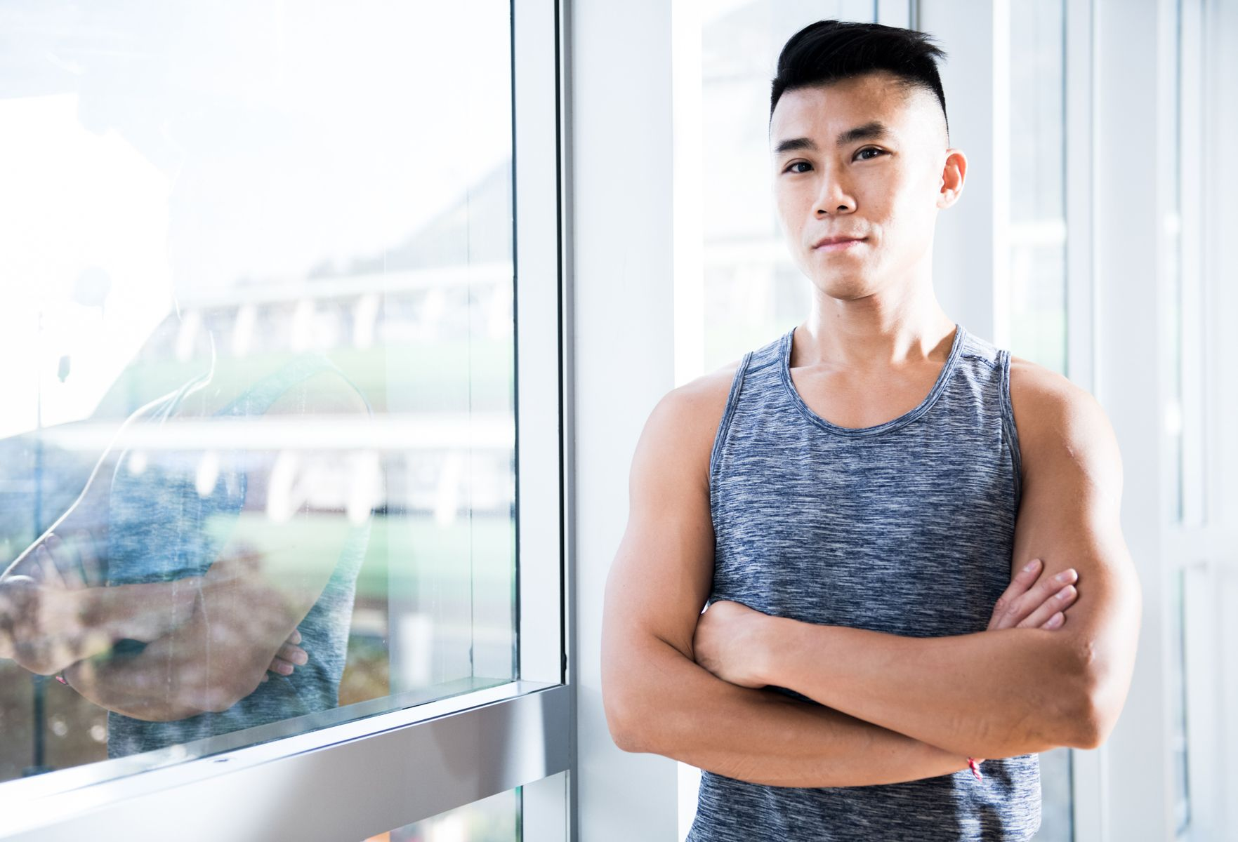 In The Gym With Victor Chau, The King Of Yoga Selfies
