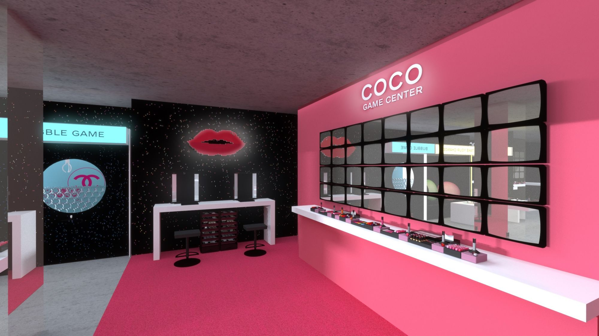 Game On: Chanel's Latest Beauty Pop-Up Touches Down In Hong Kong