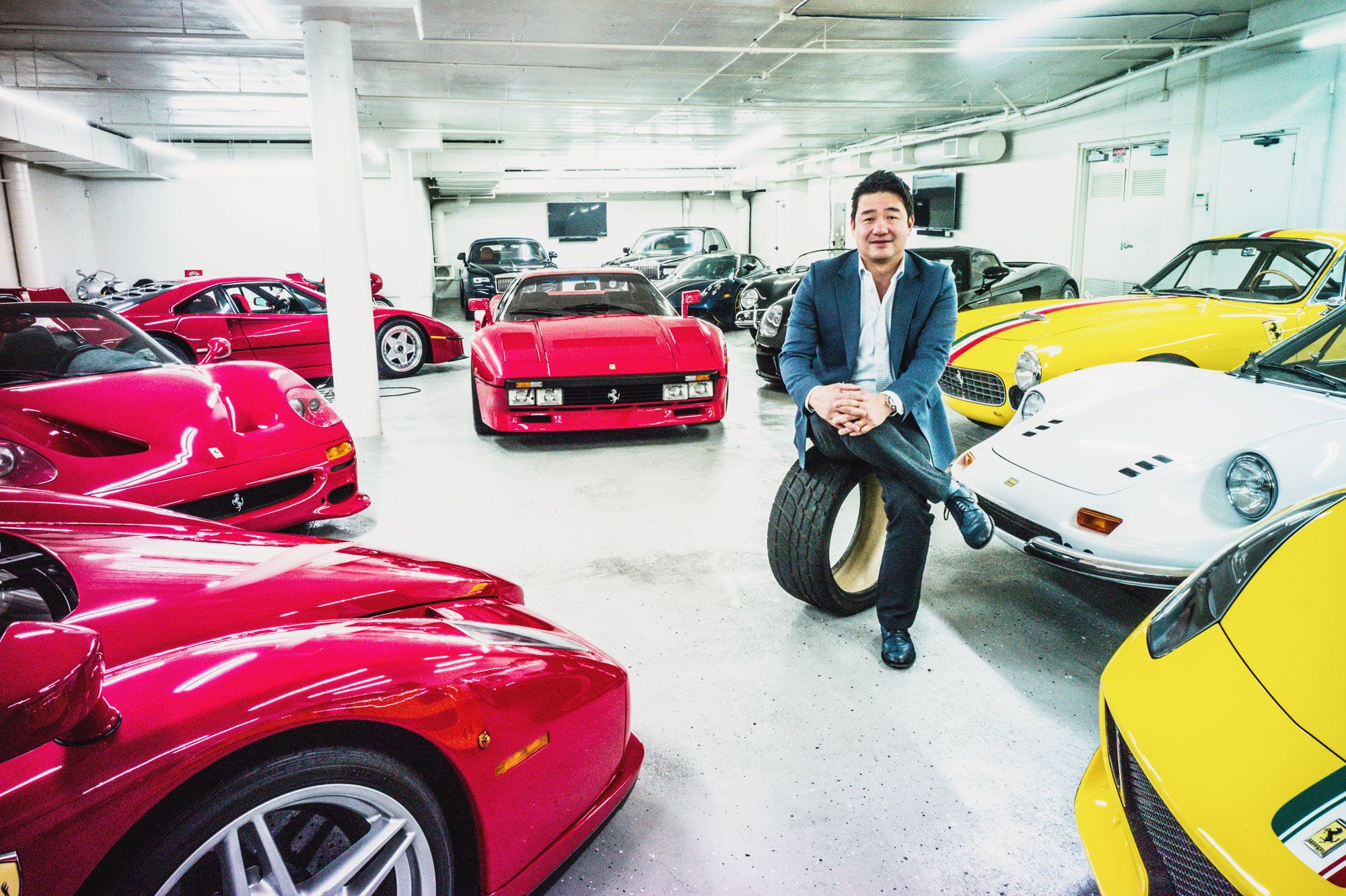 Inside David Lee's US$50 Million Ferrari Collection