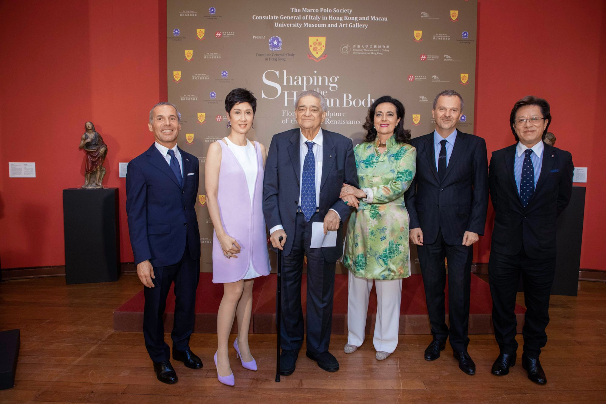 William Figliola, Michelle Ong, Luigi Bellini, Francesca Bellini, Antonello De Riu, Richard Lee