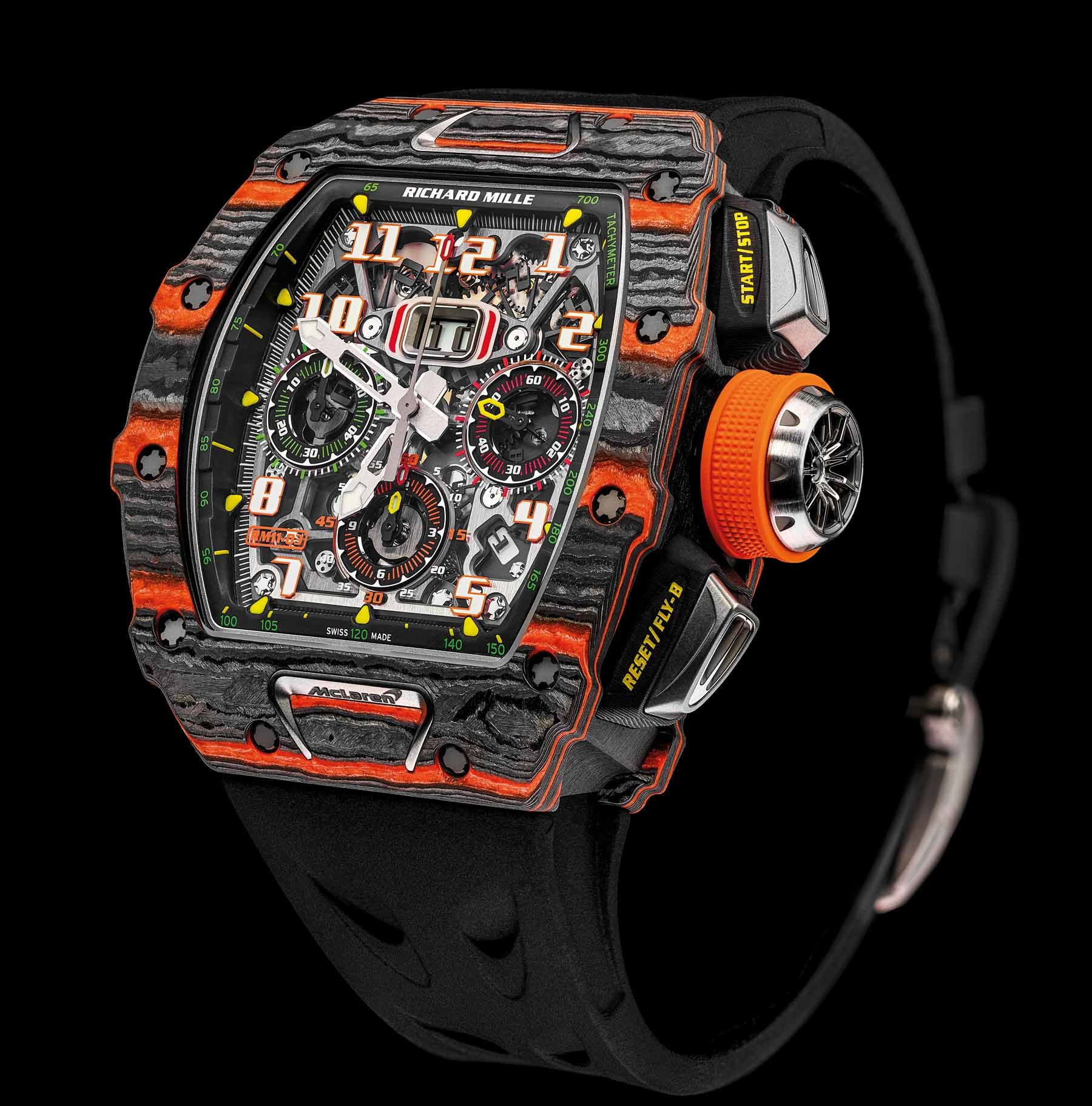 Richard Mille Teams Up With McLaren For The RM 11-03