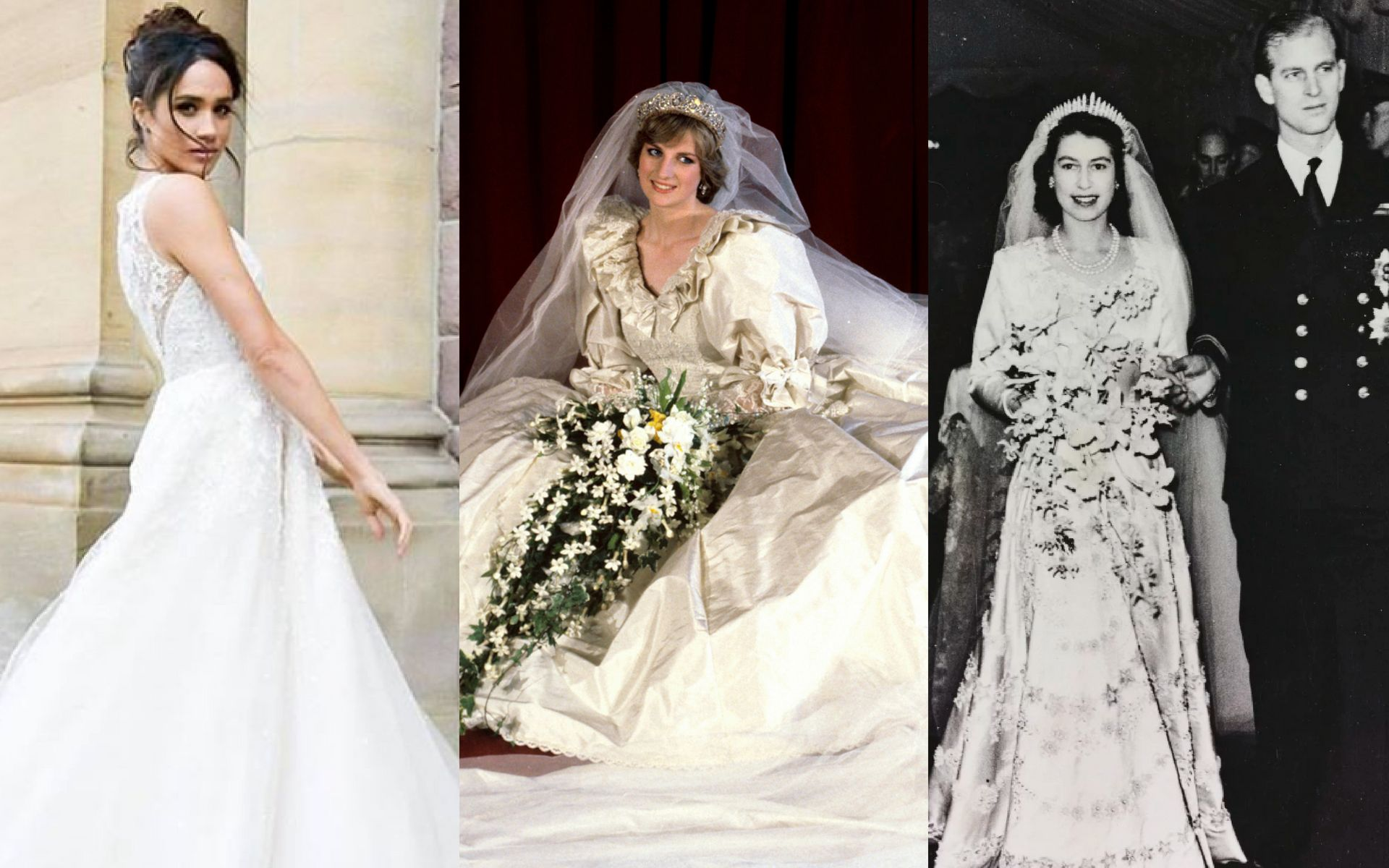 The Evolution Of Royal Bridal Gowns & How Meghan Markle Might Shake It Up