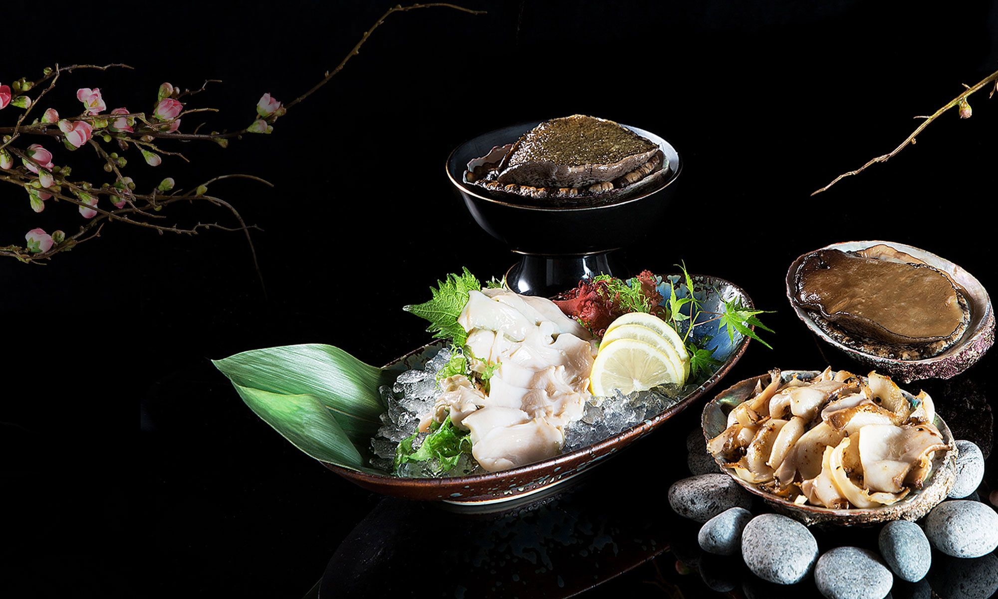Unkai Japanese Cuisine Features Precious Wild-Caught Abalone From Japan