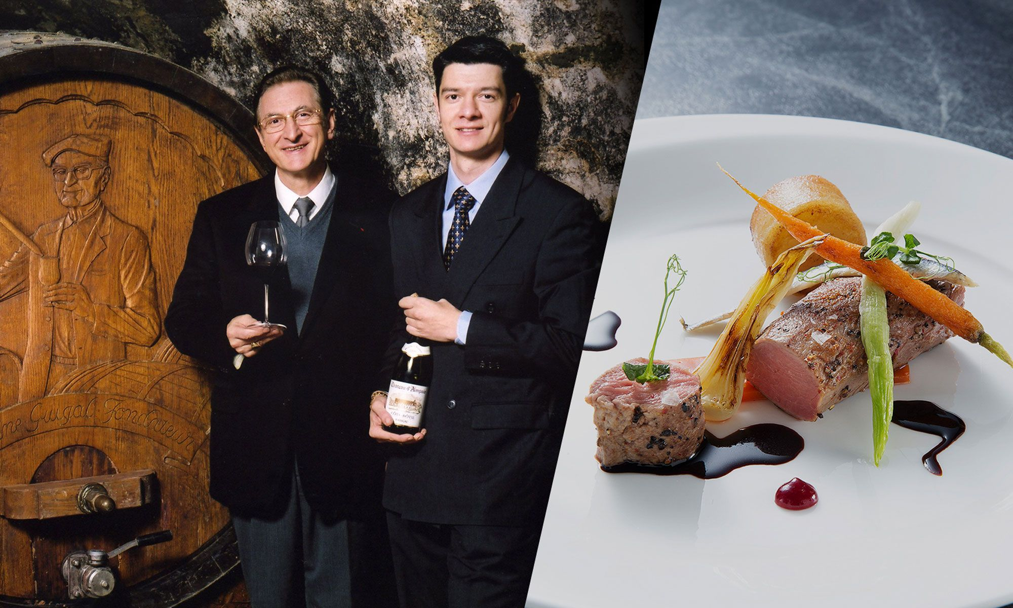 Exquisite Wine Dinner With E. Guigal At Oyster & Wine Bar