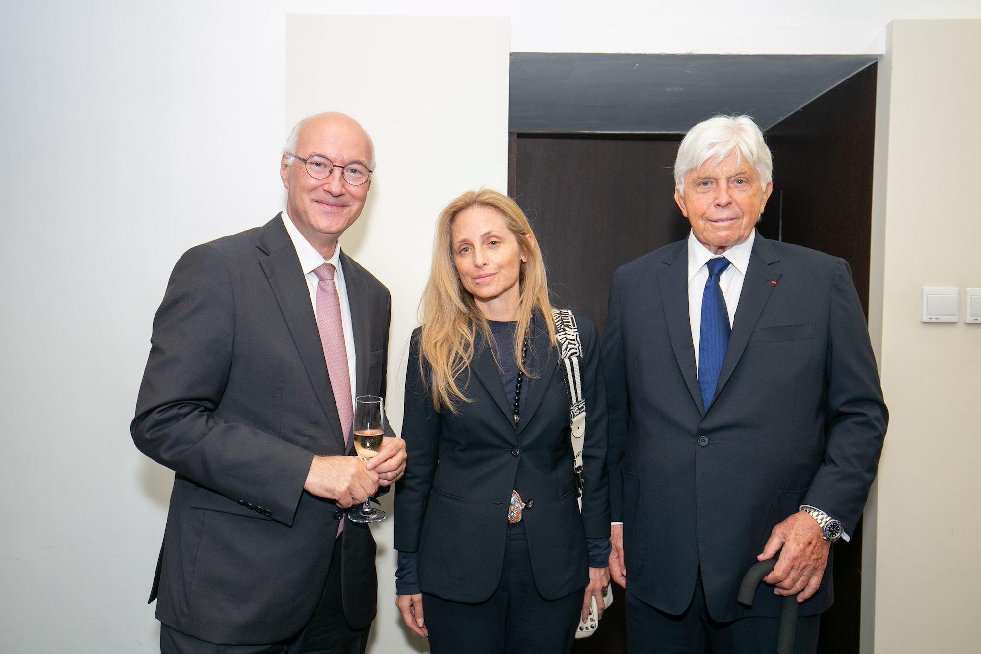 Eric Berti, Pia Getty, Robert Miller