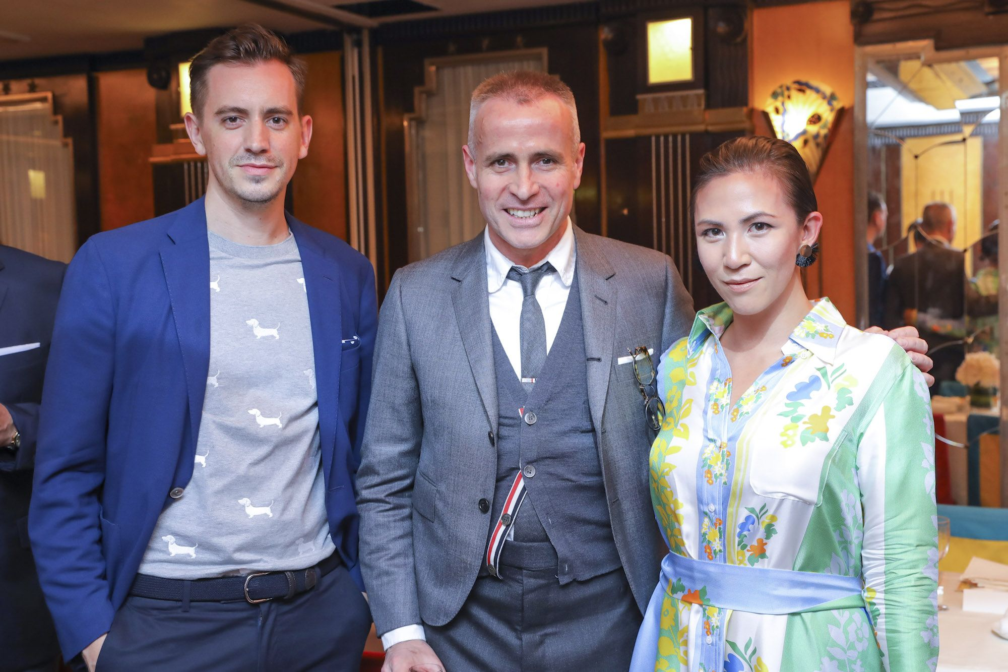 Christopher Owen, Thom Browne, Victoria Tang-Owen