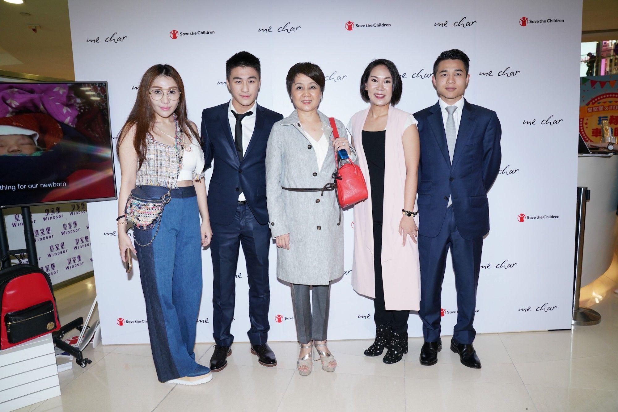 Sabrina Ho, Mario Ho, Angela Leong, Charmaine Ho, Arnaldo Ho