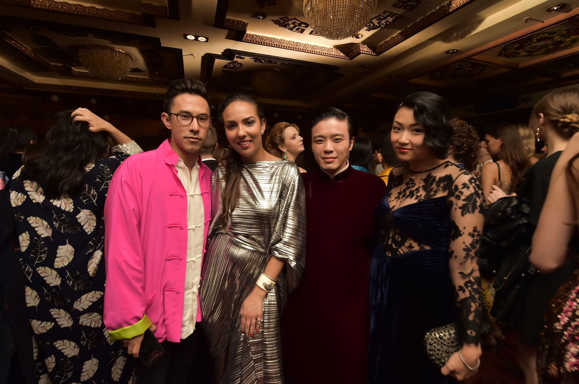 Edward Tang, Princess Alia Al-Senussi, Jonathan Cheung, Veronica Chou