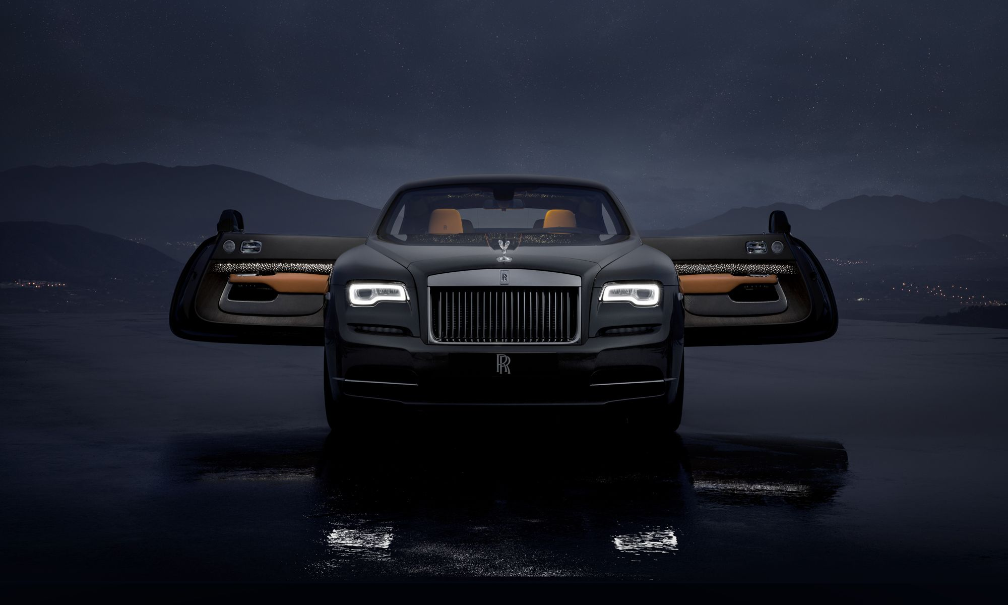 In Pictures: The Rolls-Royce Wraith Luminary Limited Collection