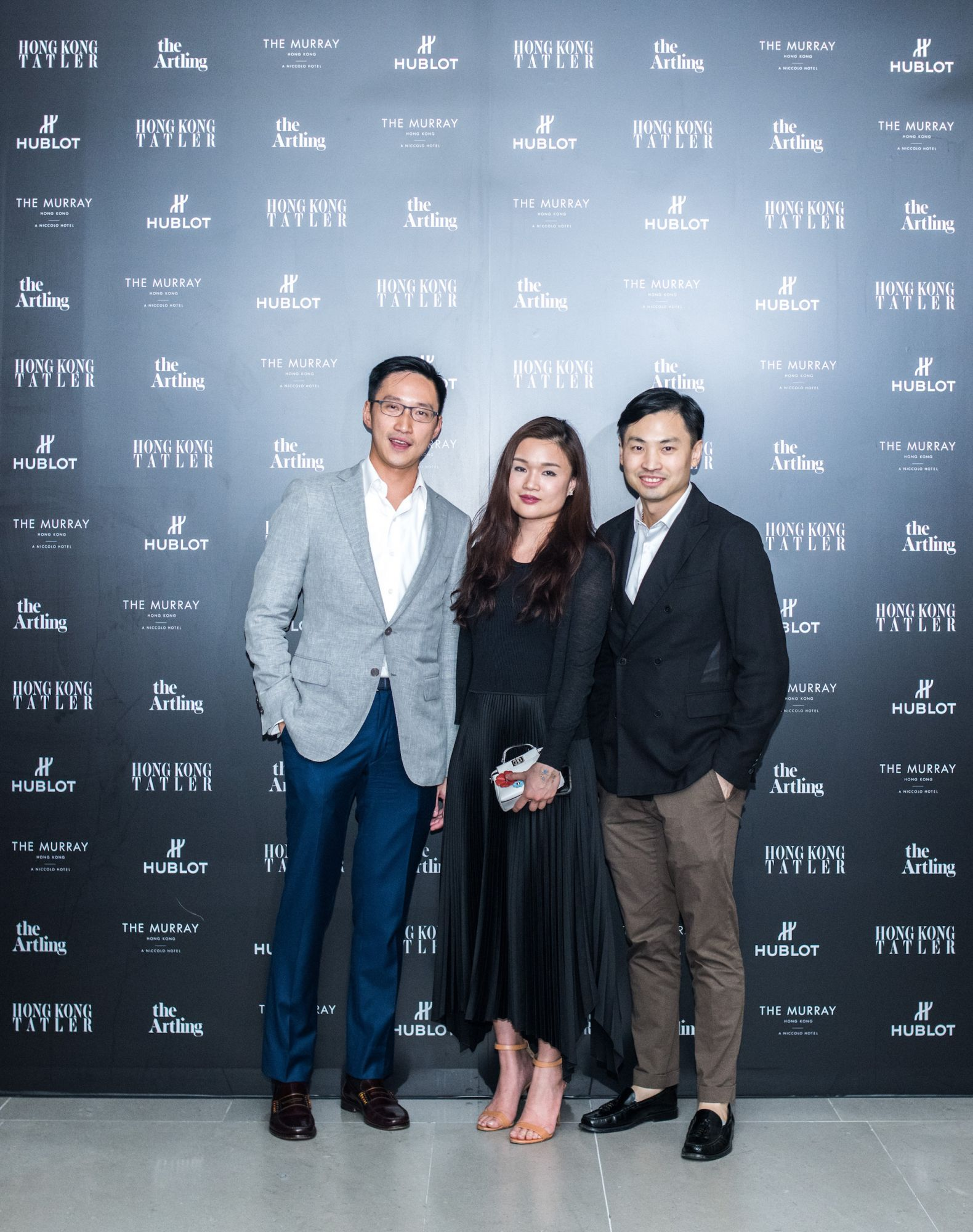 Evan Chow, Queenie Rosita Law, Honus Tandijono