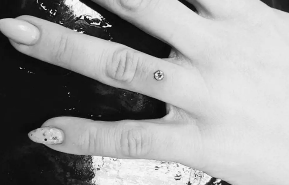 Engagement Piercings Are Now A Thing