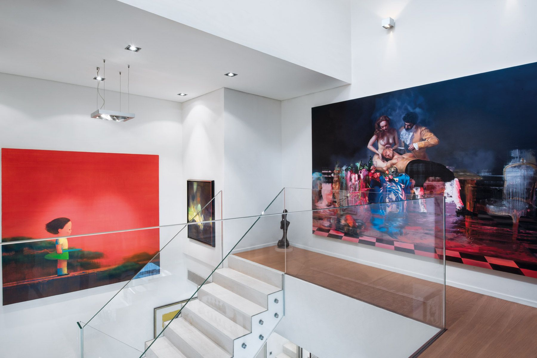 Hong Kong Homes: A Street Art-Filled Mansion On The Peak