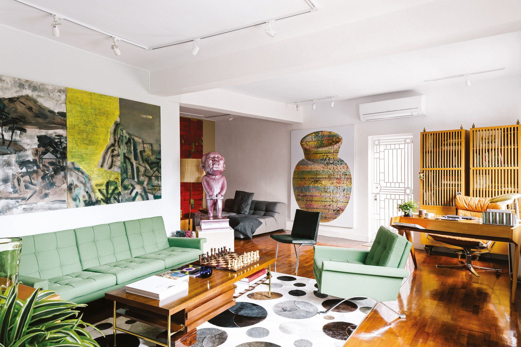 Inside The Curated Mid-Levels Home Of Gallerists Calvin Hui And Mark Peaker