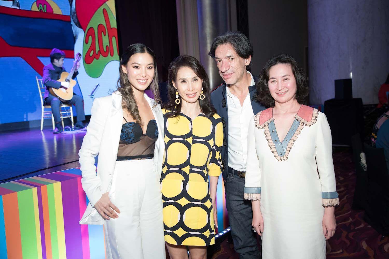 Alison Chan-El Azar, Daisy Ho, Septime Webre, Pansy Ho