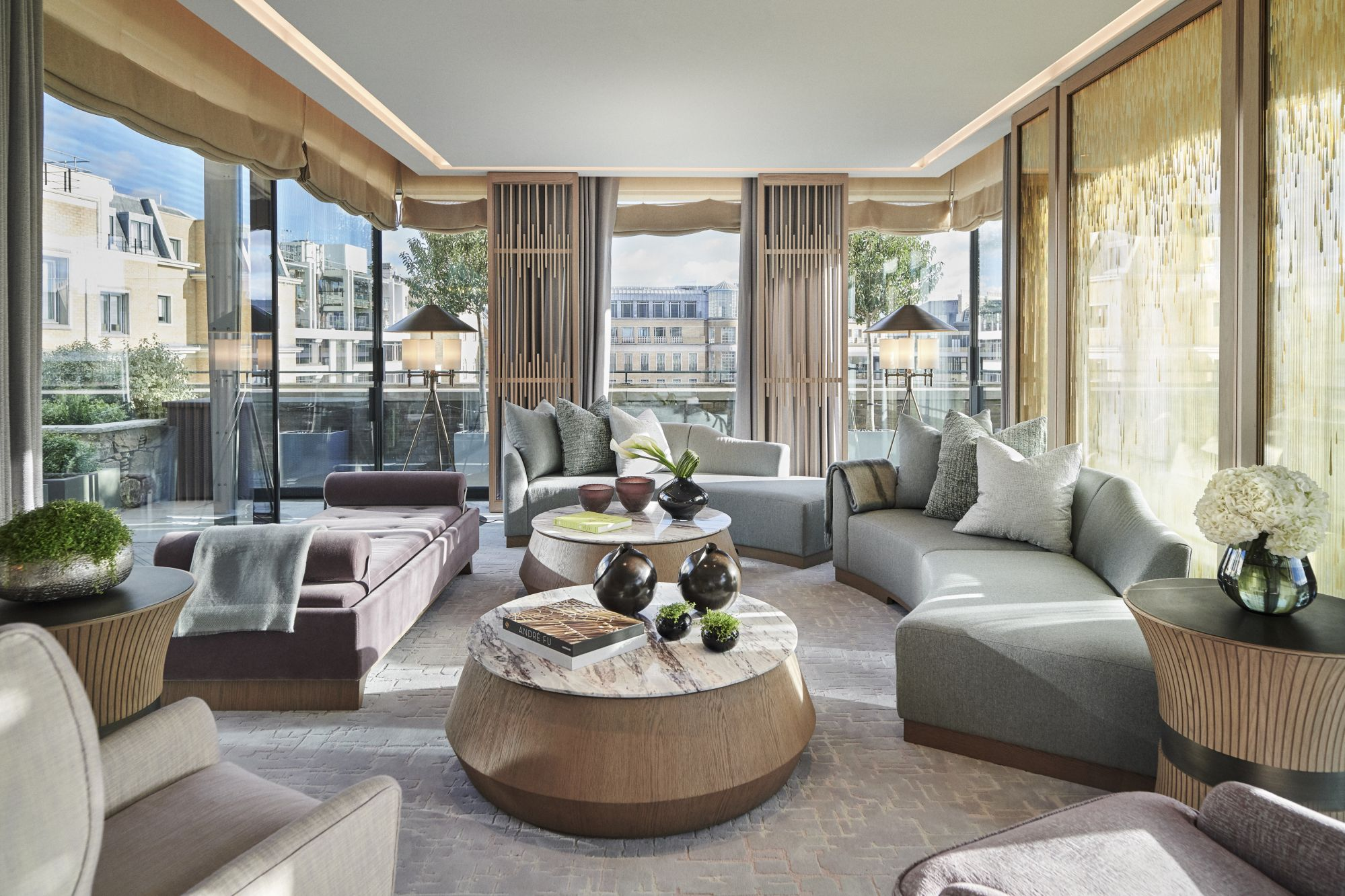 Andre Fu S Pavilion Suites At The Berkeley Are The Biggest In London