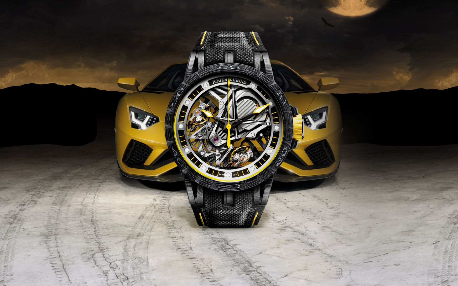 Treading Time: Roger Dubuis' Collaboration With Lamborghini