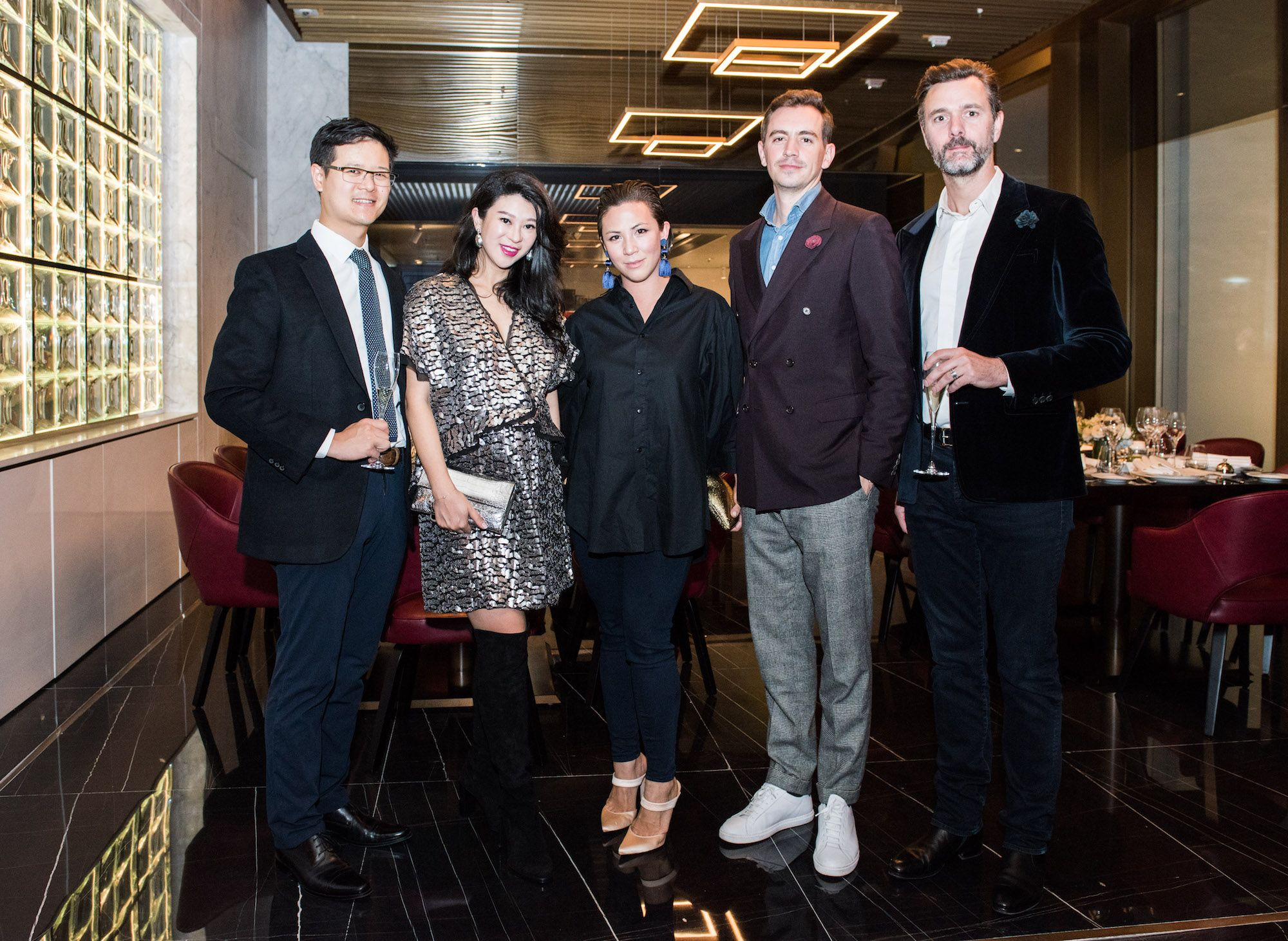 Benjamin Liang, Christy Liang, Victoria Tang-Owen, Christopher Owen, Arnaud Poix