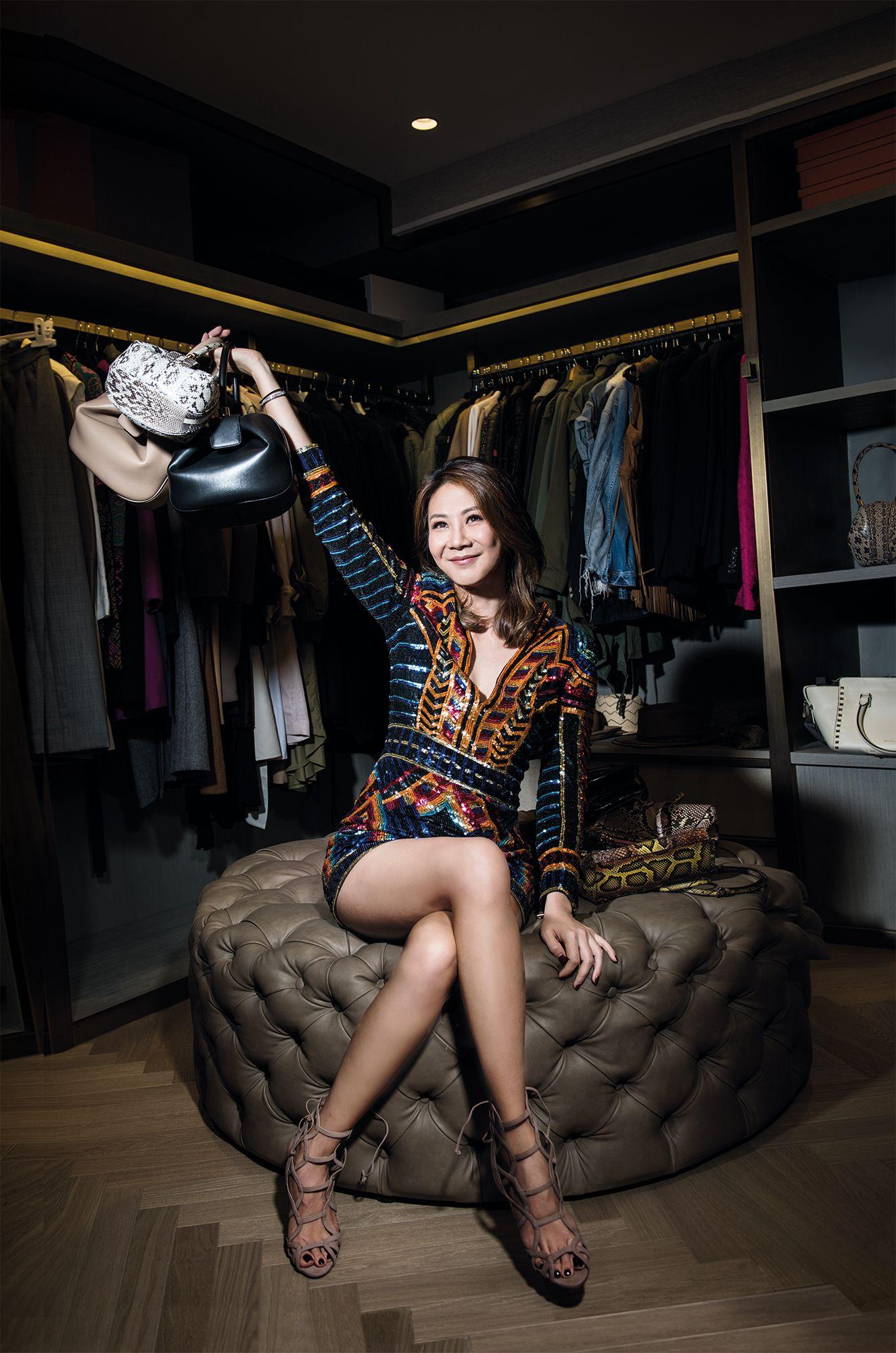 Hong Kong's Most Fabulous Wardrobes: Adrienne Hui