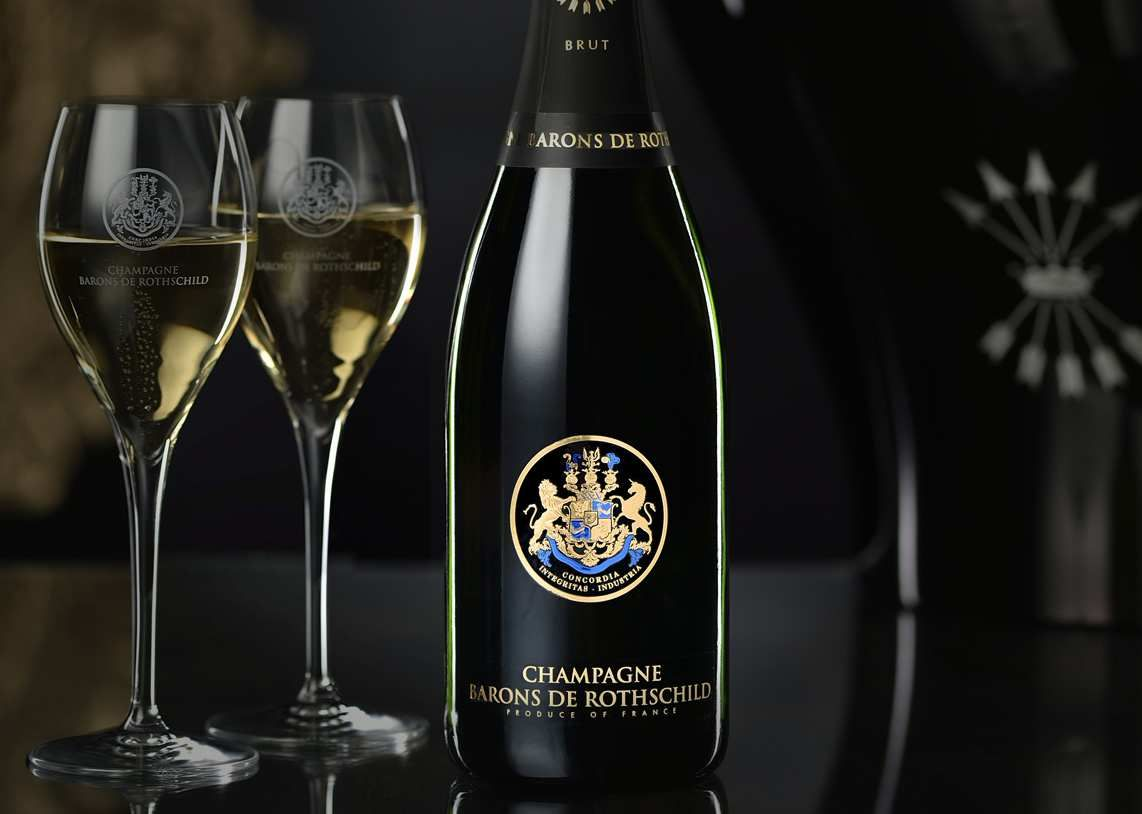 Here's Why Champagne Barons de Rothschild Is A Cut Above The Rest