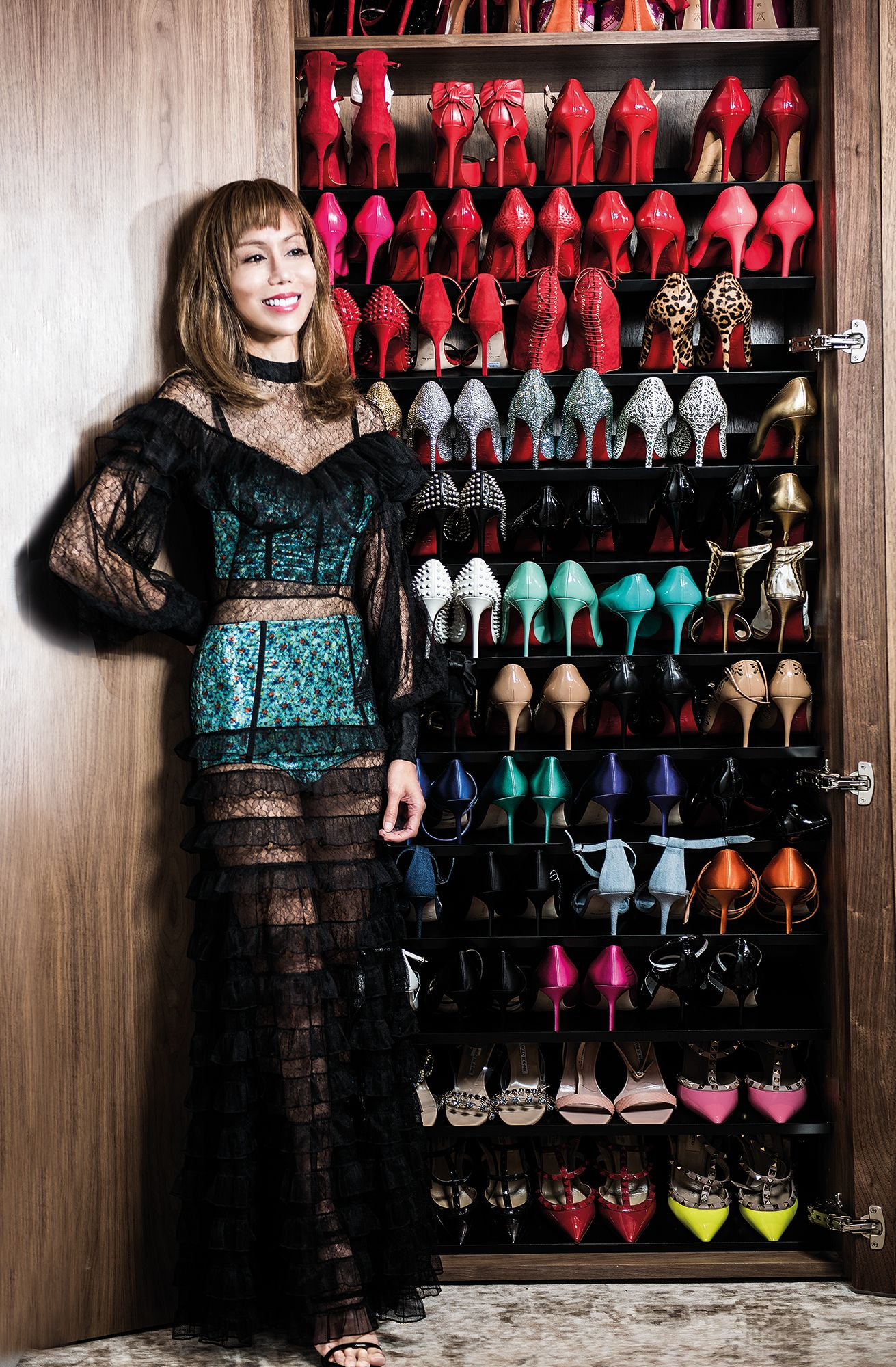 Hong Kong's Most Fabulous Wardrobes: Mira Yeh