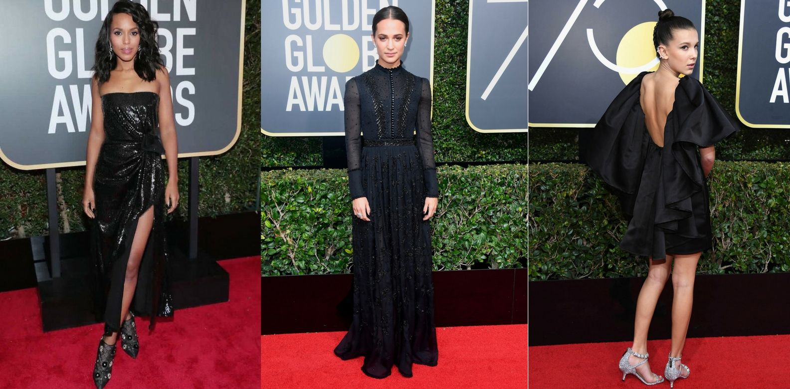 Blackout: 15 Best Dressed From The Golden Globes 2018