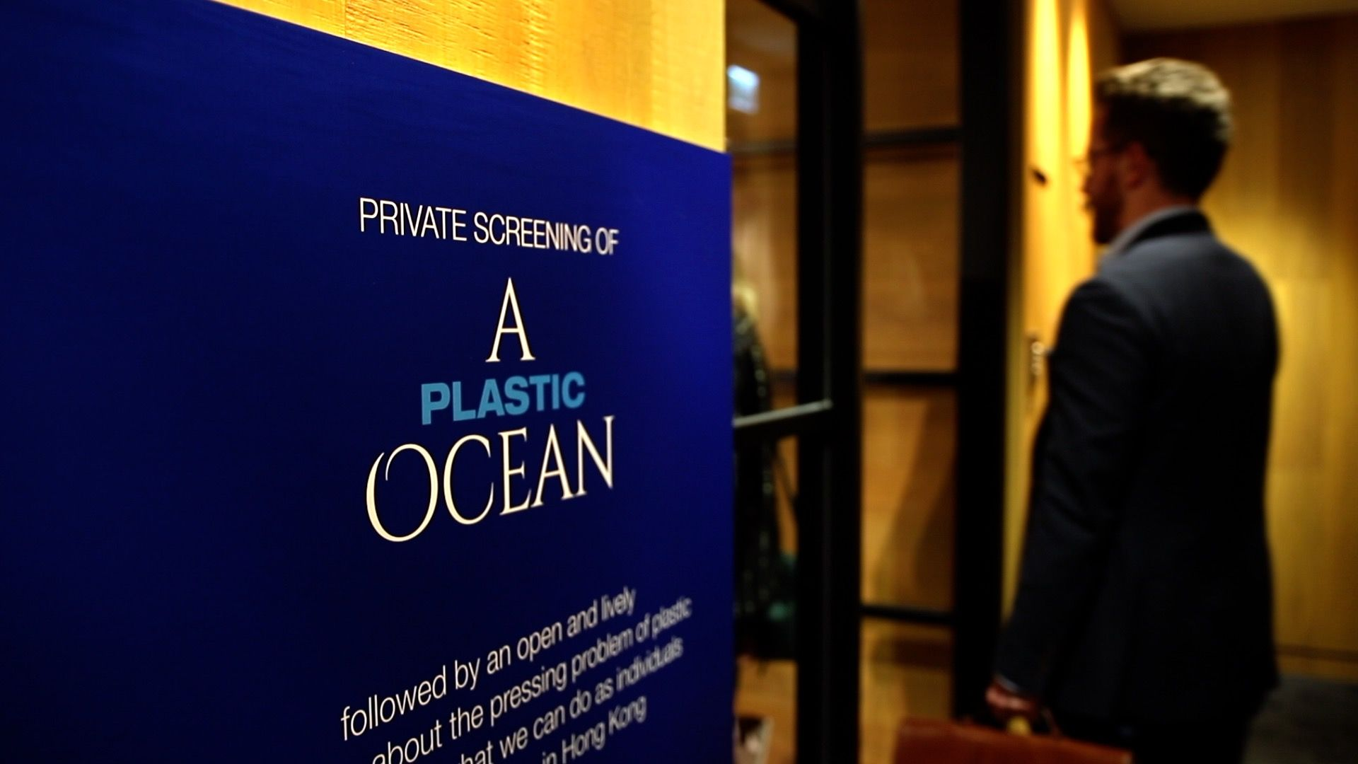 Video: Highlights From The Private Screening Of A Plastic Ocean