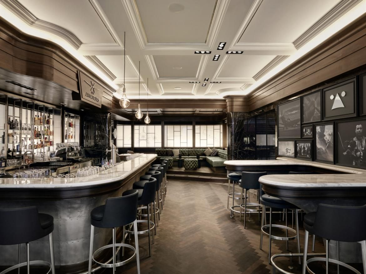 Inside IWC's New Aviation-Inspired Bar In Geneva