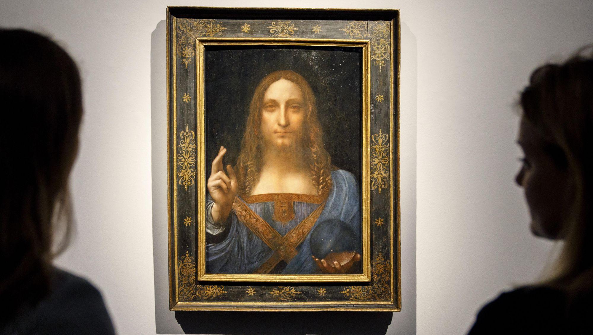 Secret Buyer Of $450 Million Leonardo da Vinci Painting Revealed