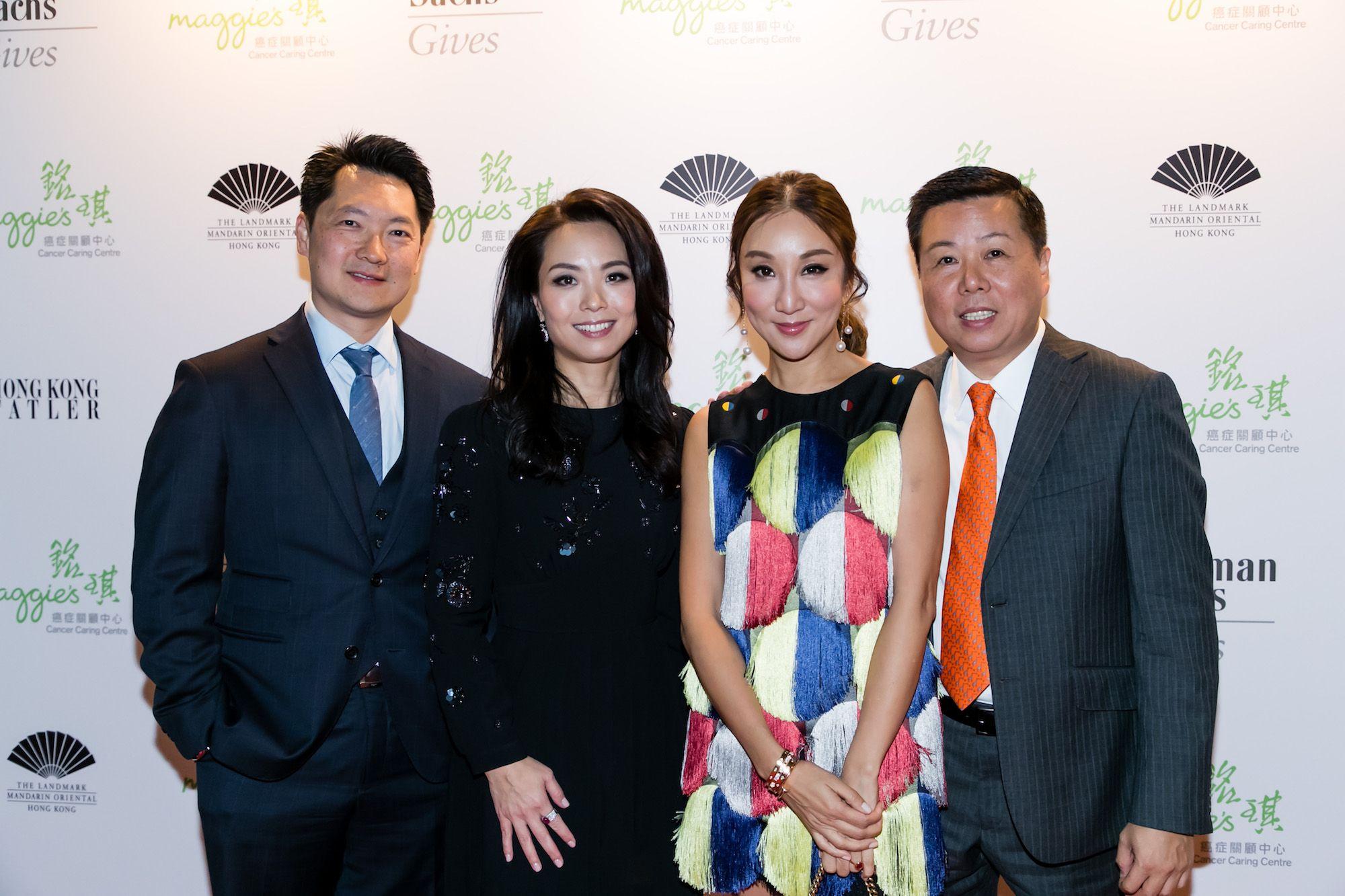 Julian Liu, Anne Wang-Liu, Jane Louey, James Louey