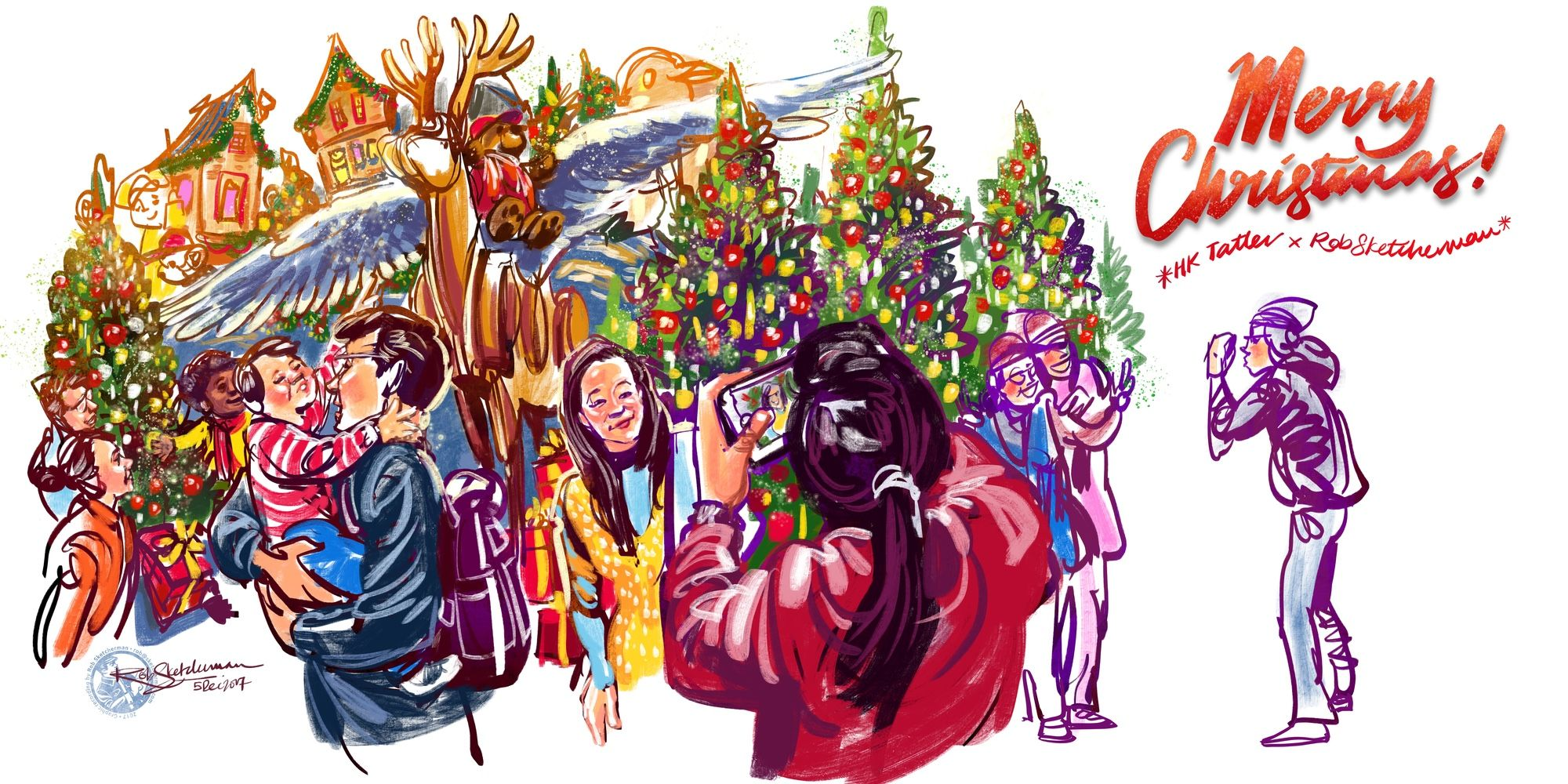 Art Talk: Season's Greetings From Rob Sketcherman