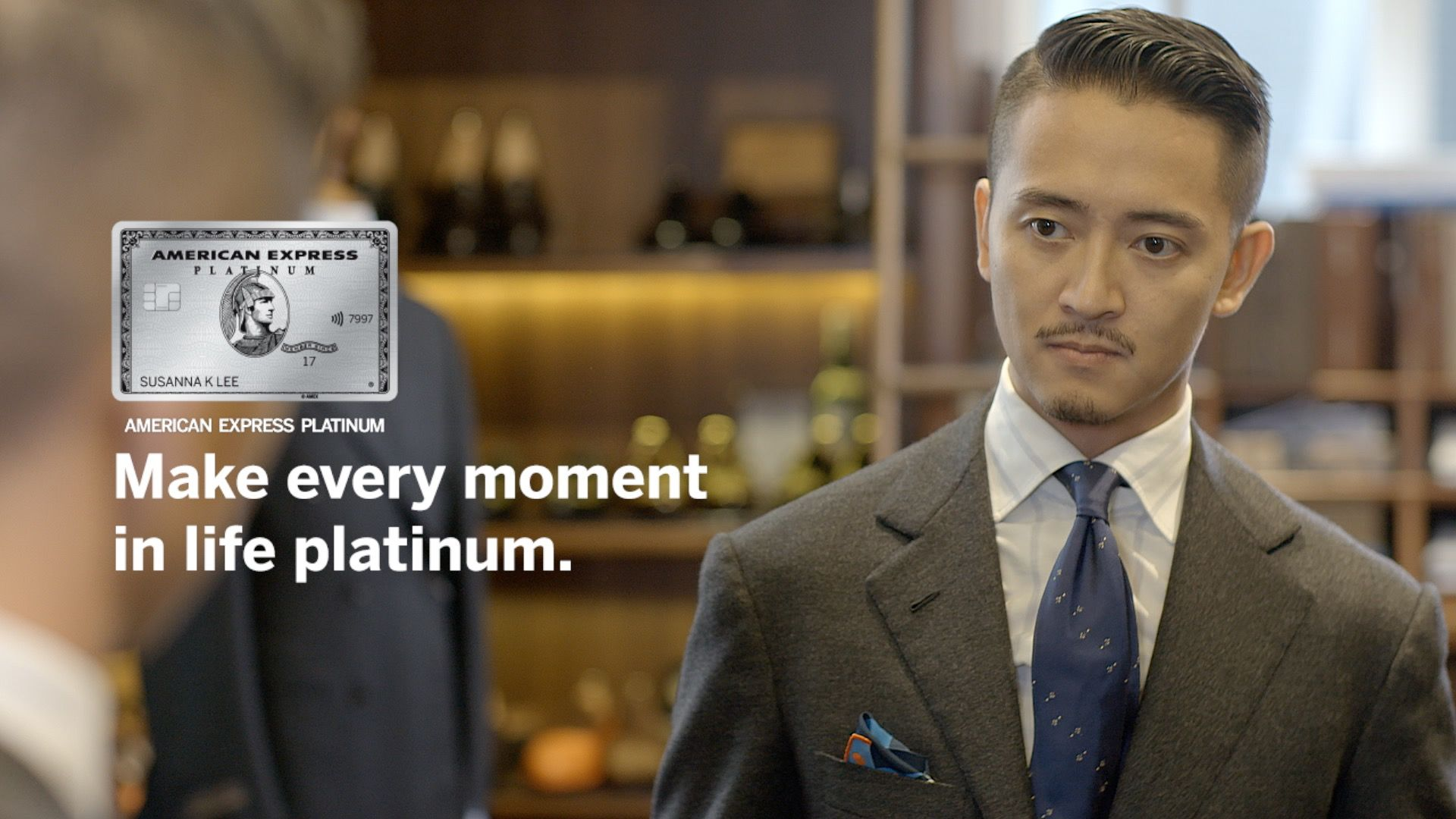 Alan See Of The Armoury & Yen Kuok Of Guiltless Live The Platinum Life With American Express