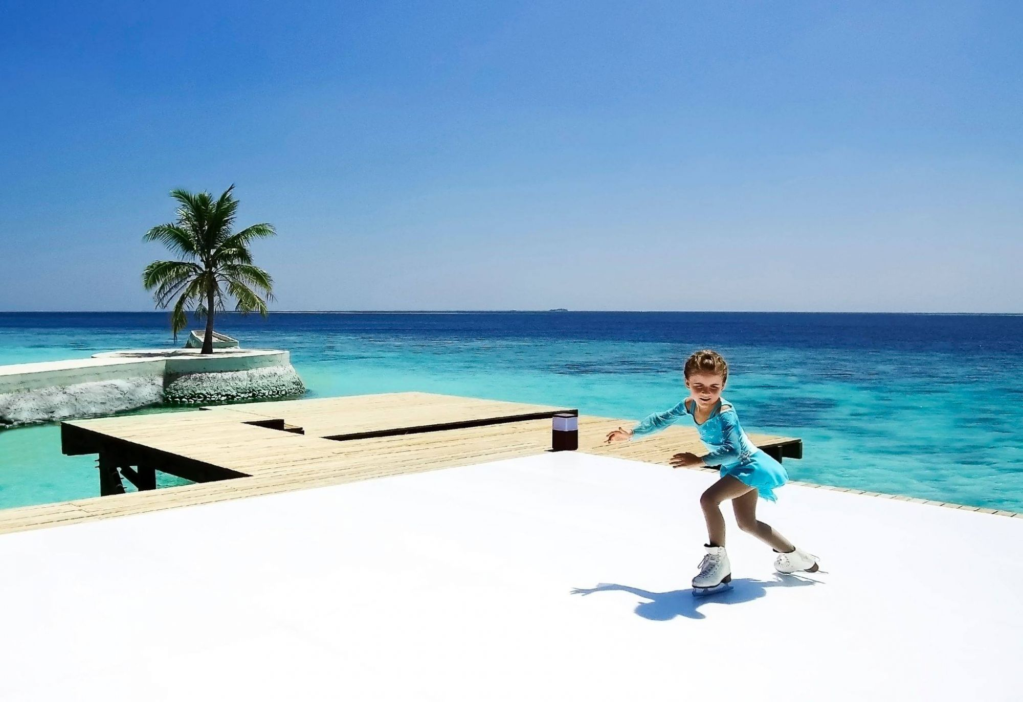 Jumeirah Vitavelli Will Introduce The First Ice Skating Rink In Maldives Photo Courtesy